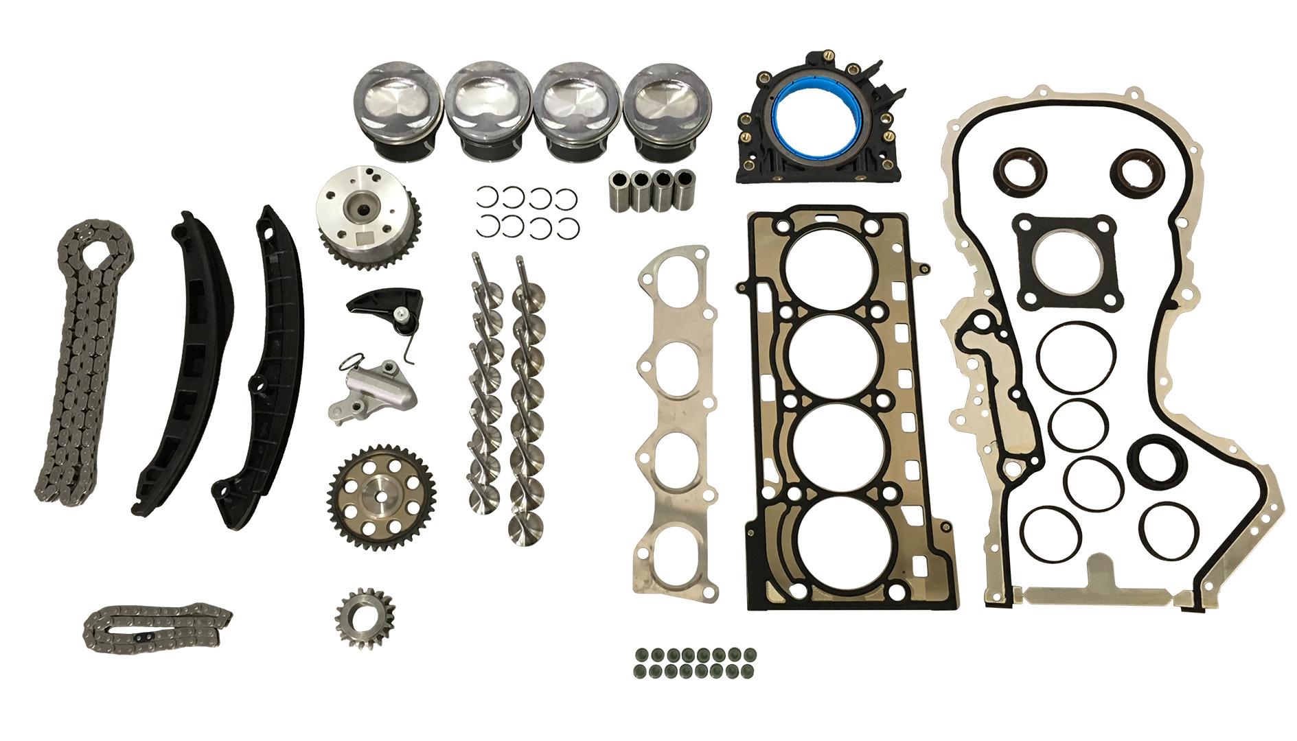 Kolben Kit VW Seat Skoda 1,4 TFSI TSI CAV CAX CTHA CNW CTH CTK NEU DE238600