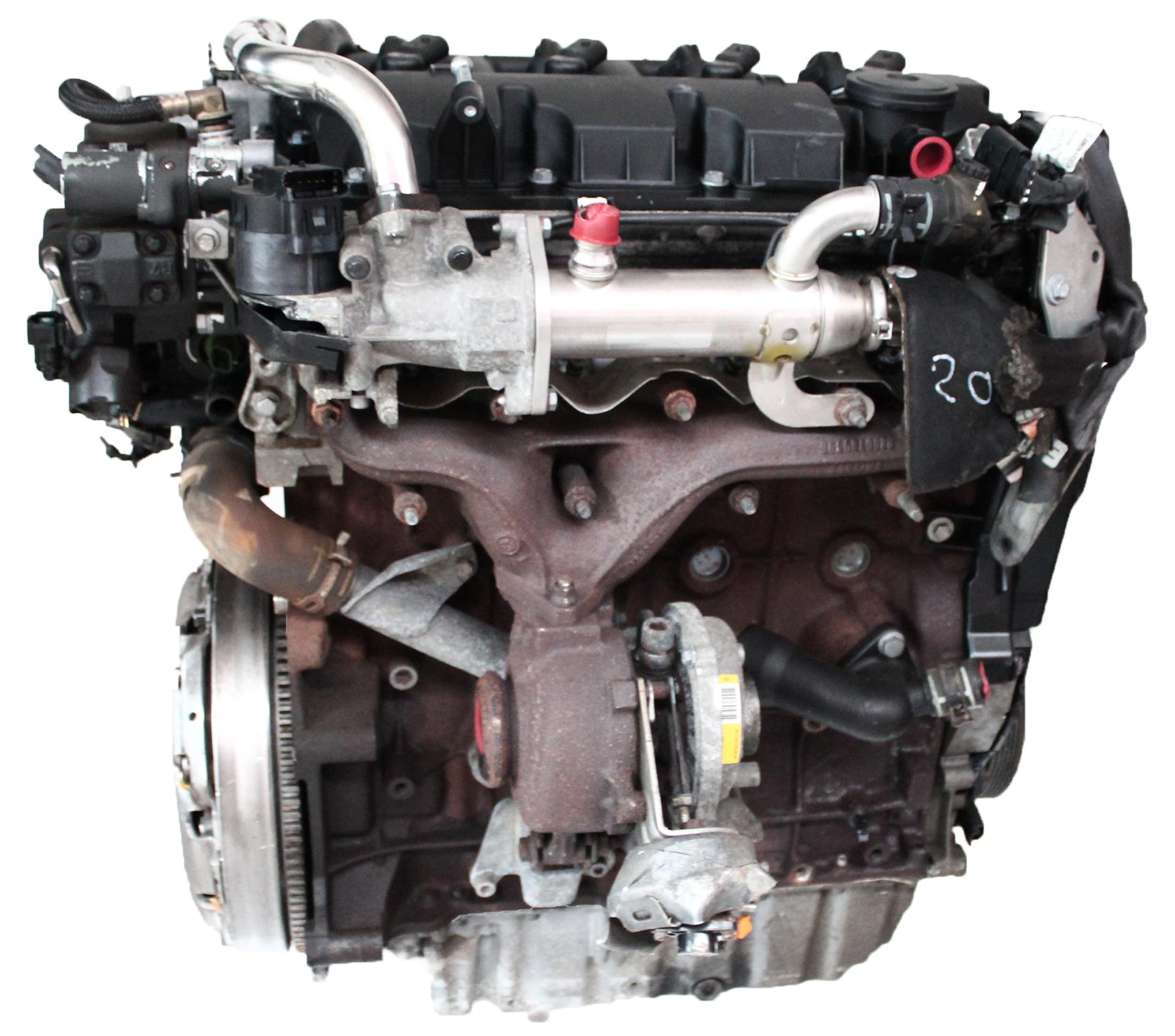 Motor 2007 Ford Mondeo IV BA7 2,0 TDCI Diesel QXBA mit Anbauteilen