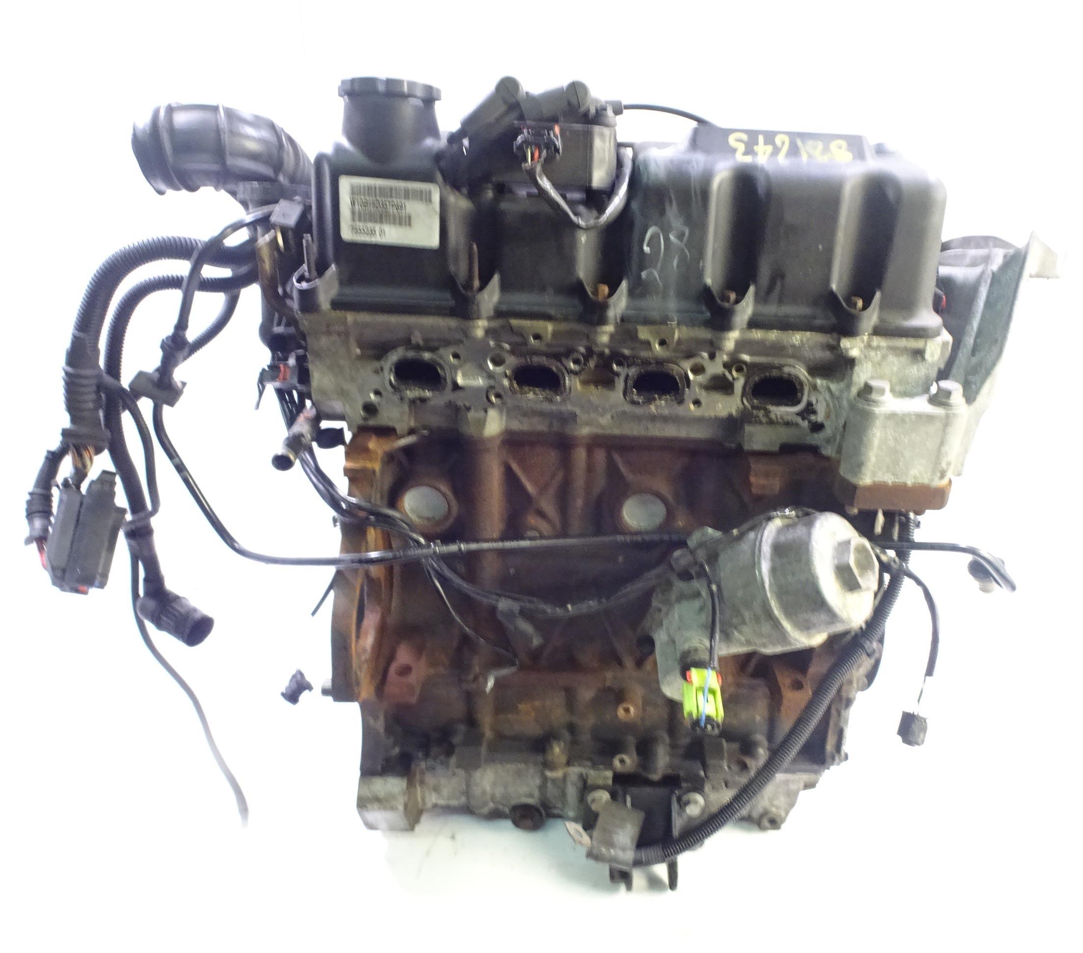 Motor 2006 Mini Cooper R50 R52 R53 1,6 Benzin W10B16A W10B16 mit Anbauteilen