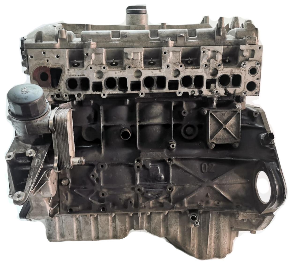 Motor 2003 Mercedes Benz E-Klasse W210 VF210 S210 2,7 CDI OM612 612.961