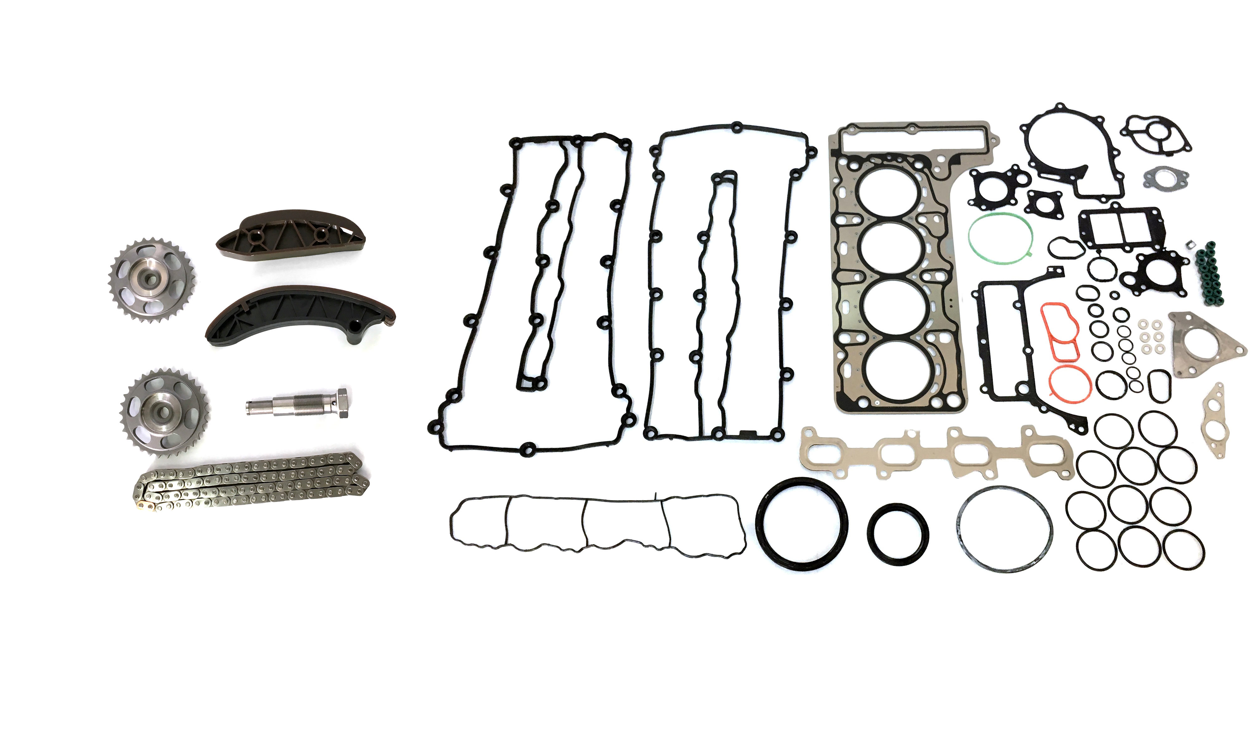 Cylinder head gasket Timing chain set Mercedes-Benz C-class the 2.2 CDI OM651 NEW