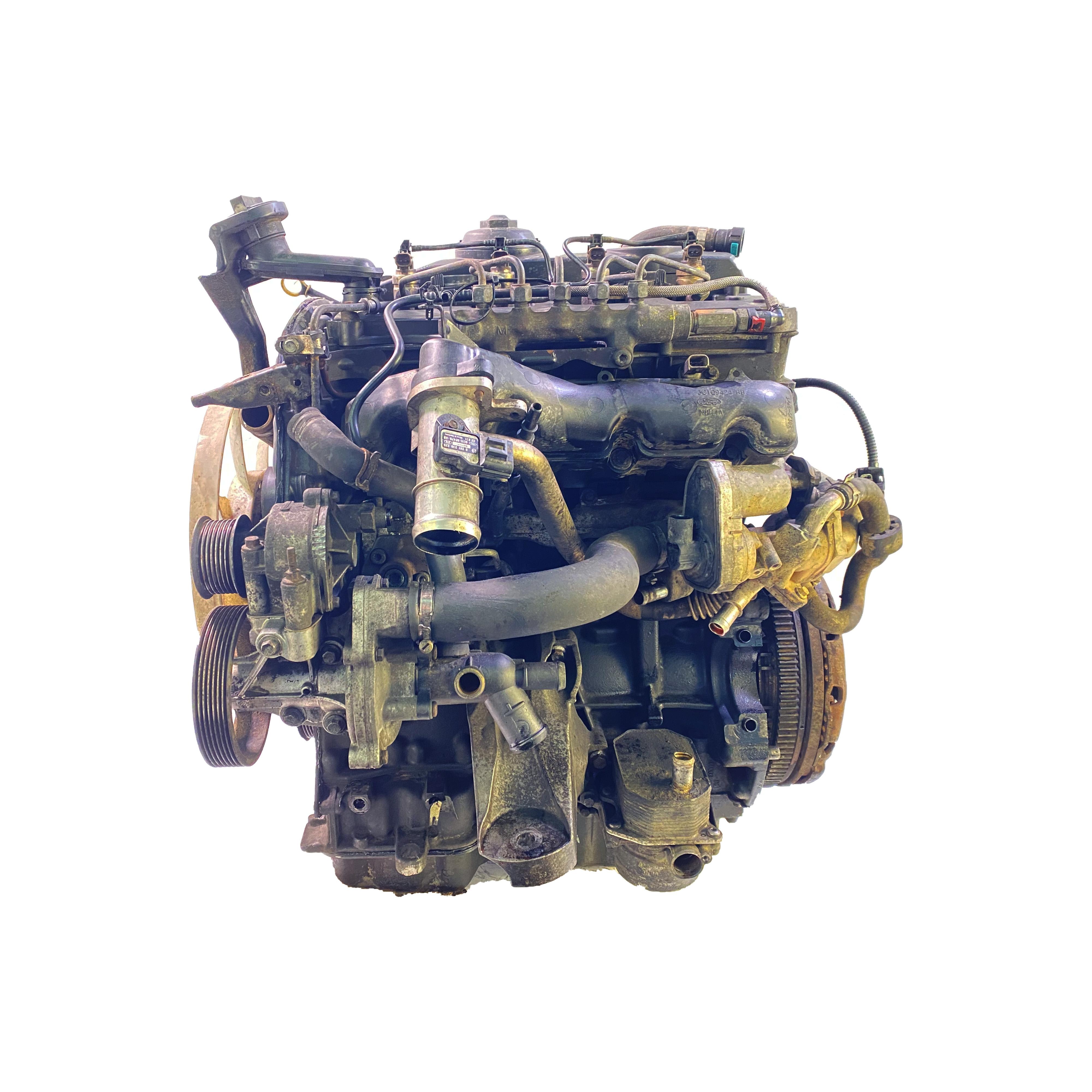 Motor mit Anbauteilen für Ford Transit 2,4 TDCI H9FA 137 PS