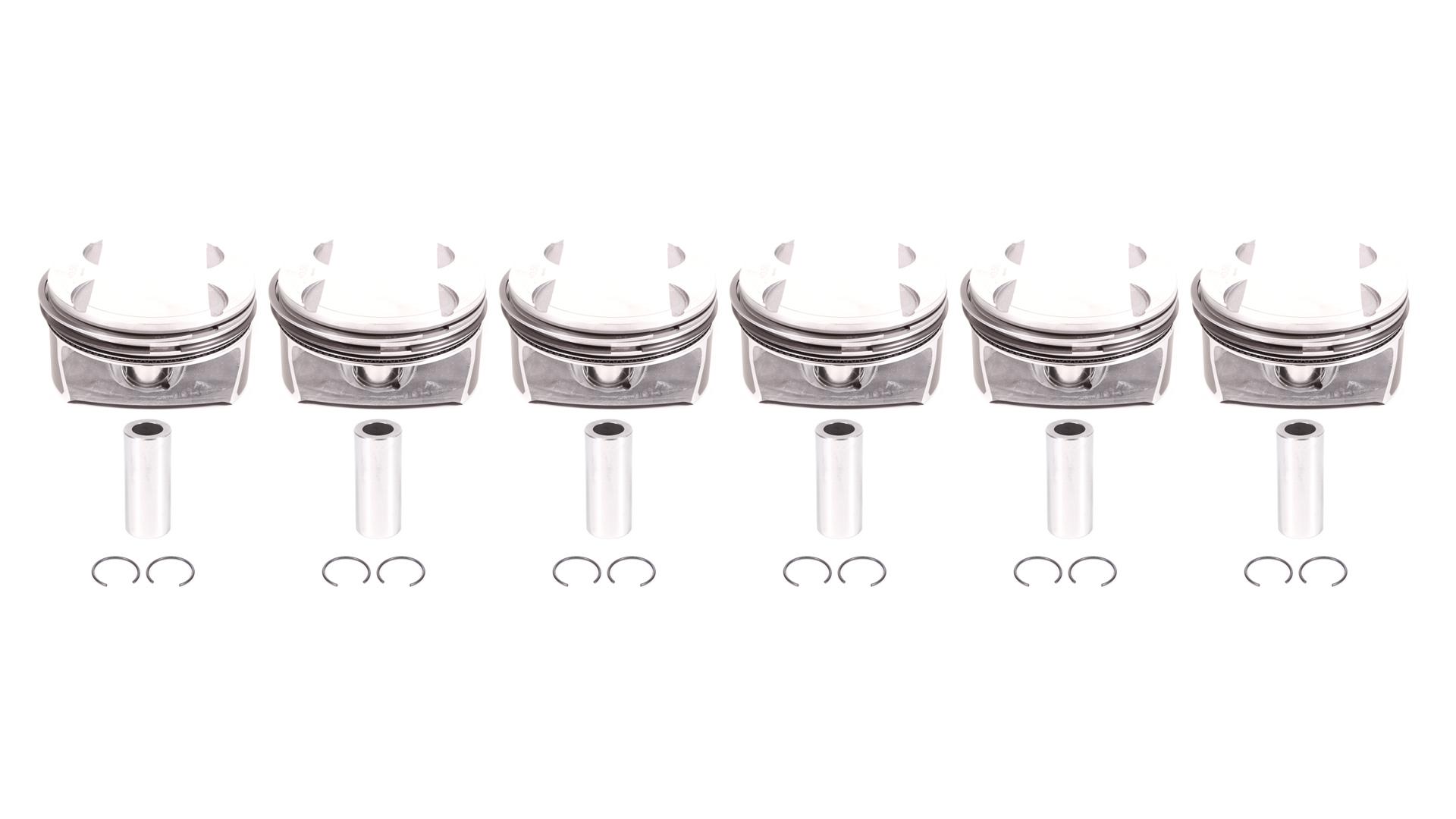 6x Kolben Übermaß +0,5 Mercedes C-Klasse C350 3,5 272.960 272.961 272.964 NEU