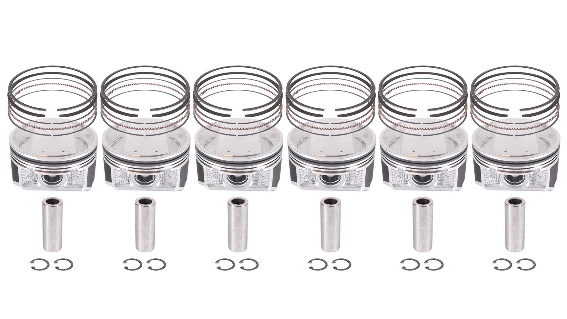 Piston set 6x Piston Nissan Infiniti Z50 FX 35 for 3.5 VQ35DE VQ35 NEW DE244163