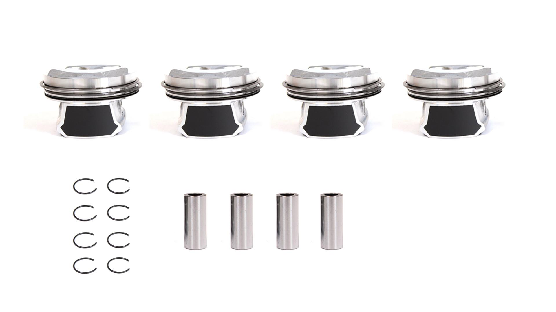 4x Kolben Übermaß +0,25mm Mini R56 Clubman R55 1,4 NEU DE296582
