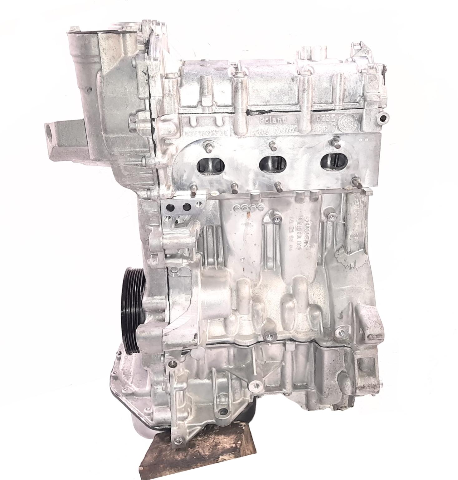 Motor Überholt für VW Skoda Seat Polo 1,2 CGP CGPA CGPB Kolben Kettensatz NEU