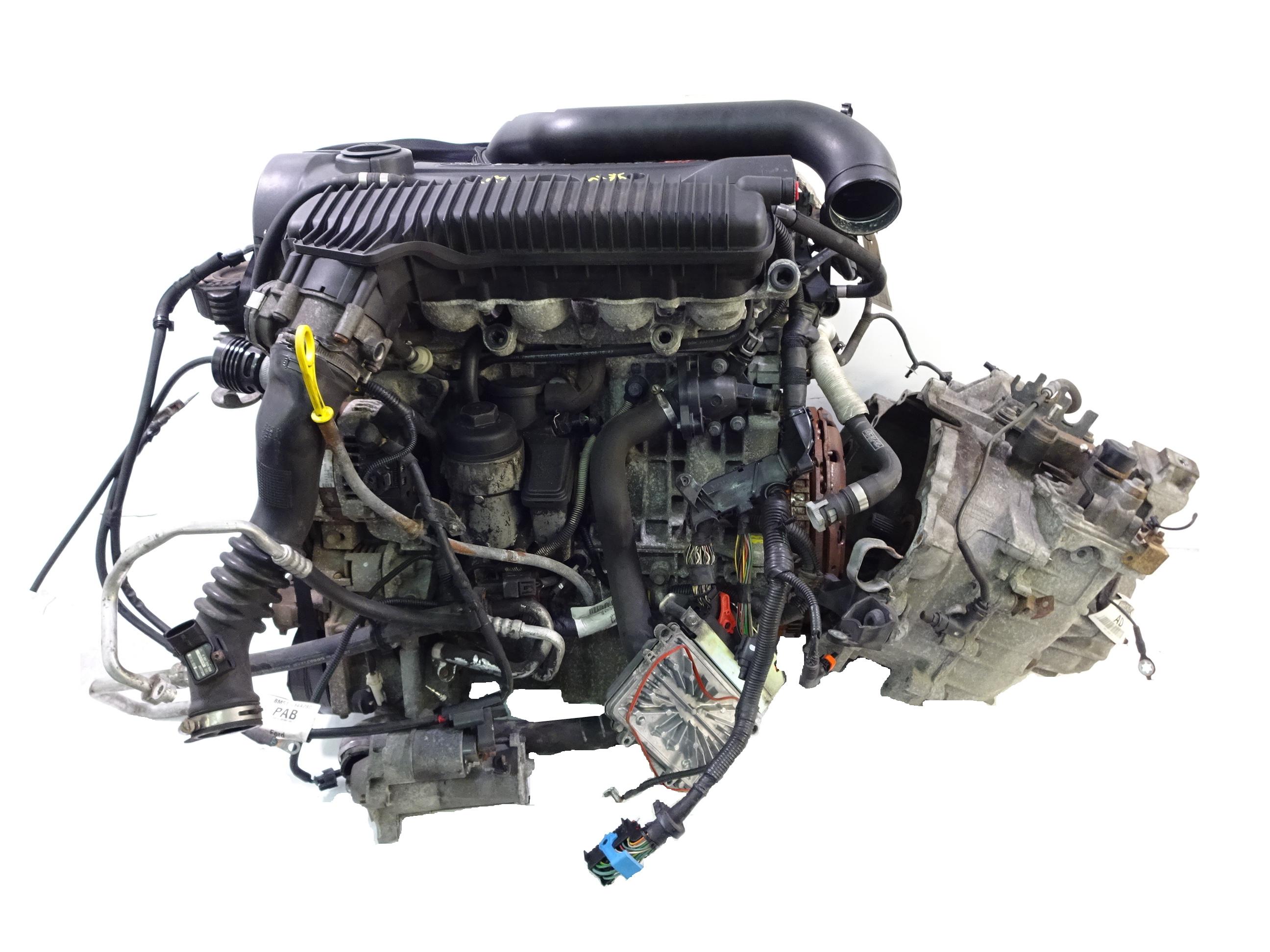 Motor mit Schaltgetriebe 2008 Ford Focus II DA 2,5 ST HYDA 225 PS
