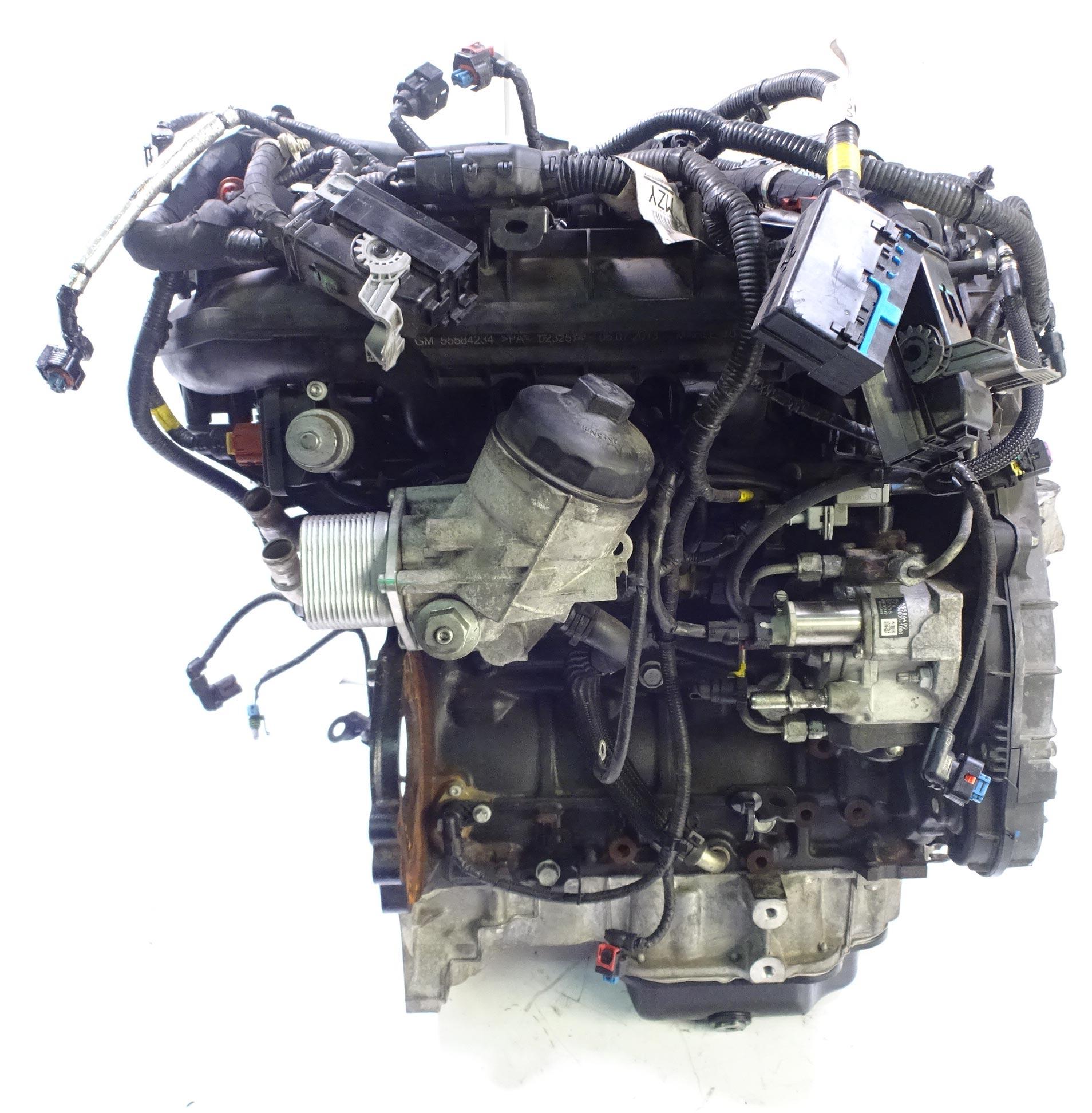 Motor 2014 Opel Astra GTC J Corsa Meriva Mokka 1,7 CDTI A17DTS mit Anbauteilen