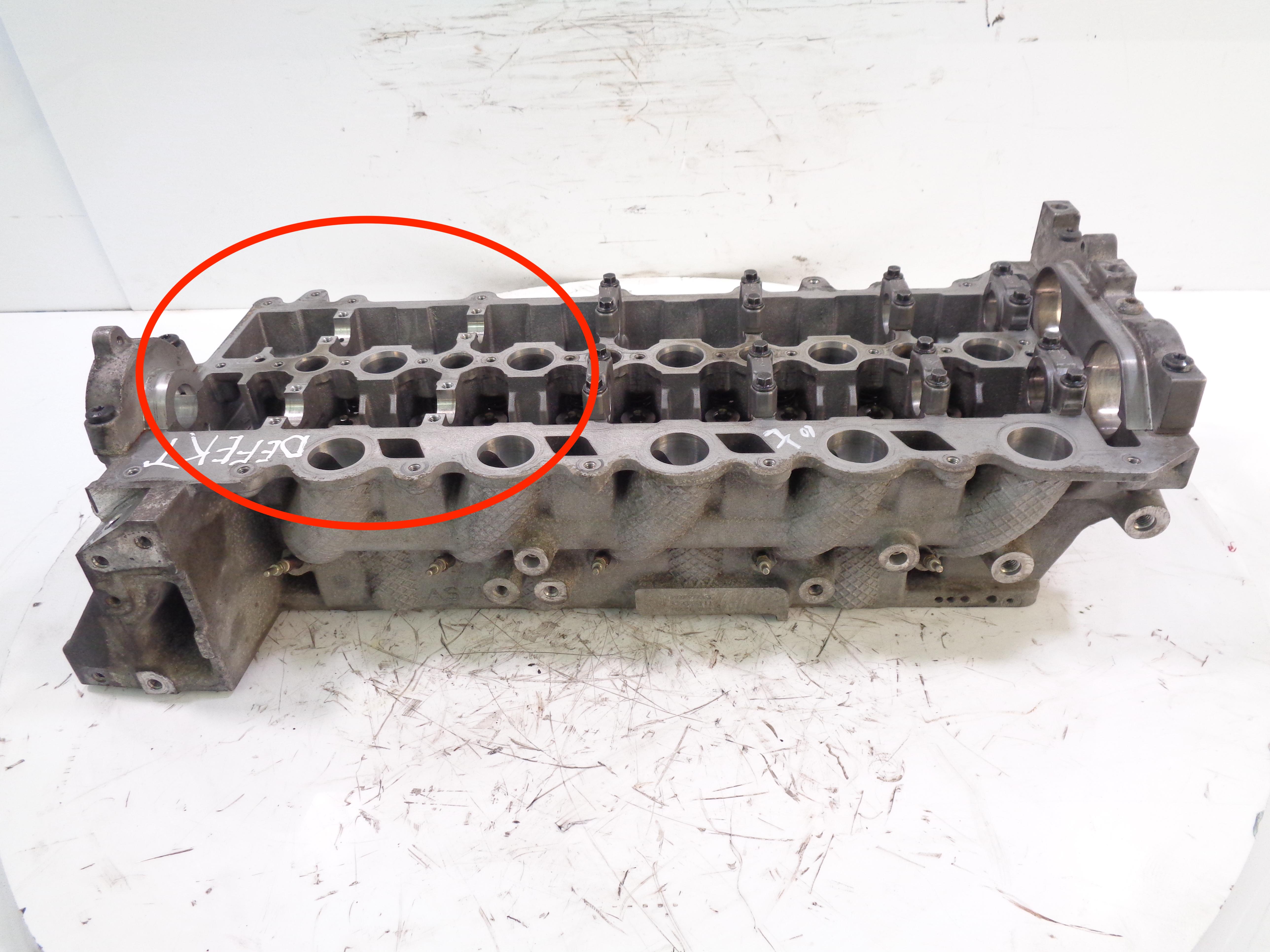 Zylinderkopf Defekt für Volvo 2,0 2,4 D5 D5244T D5204T2 D5204T3 D5204T5 30777365