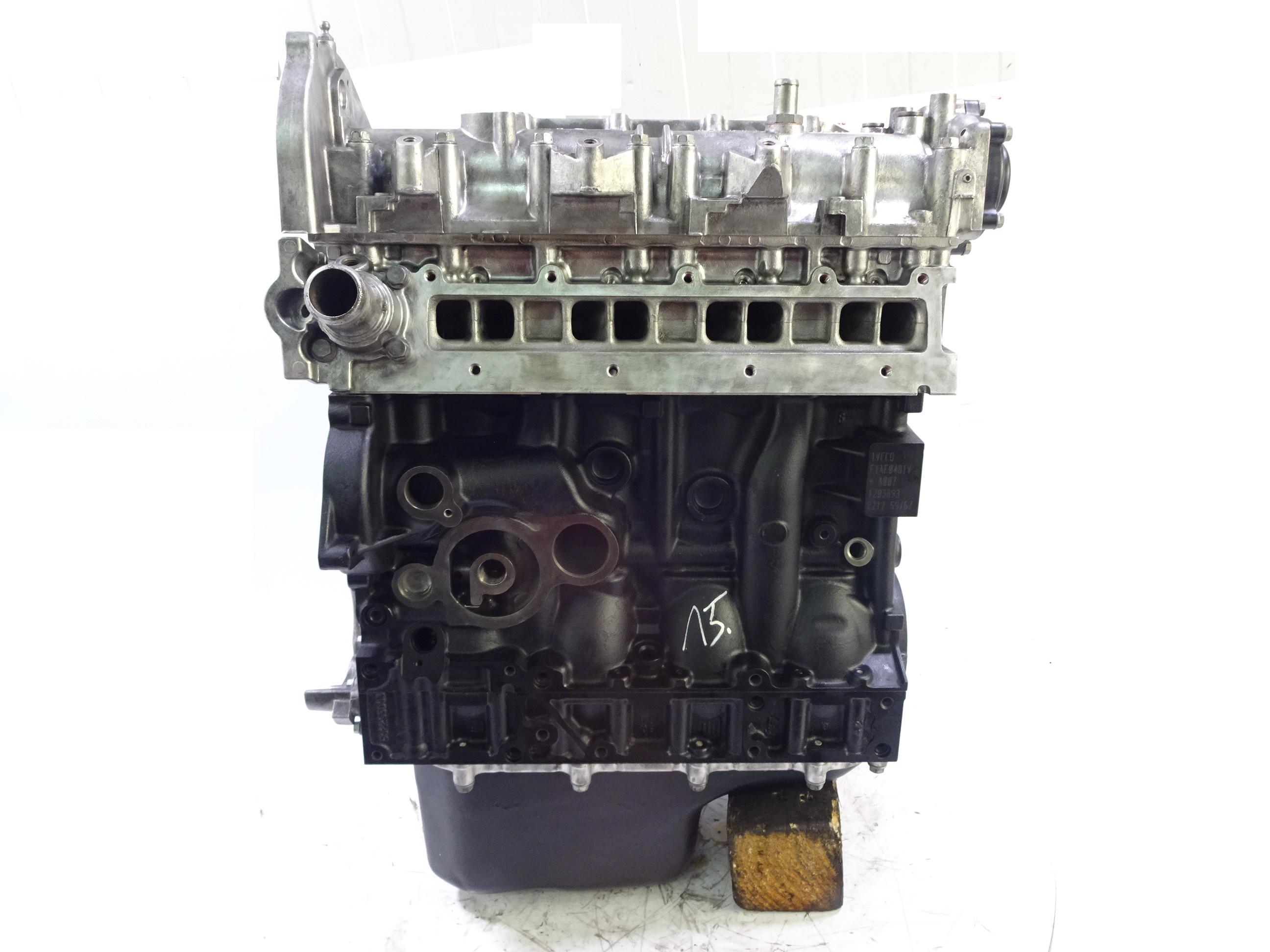 Motor 2010 für Iveco Daily 2,3 D F1AE0481V F1AE Kolben Kettensatz Dichtung NEU
