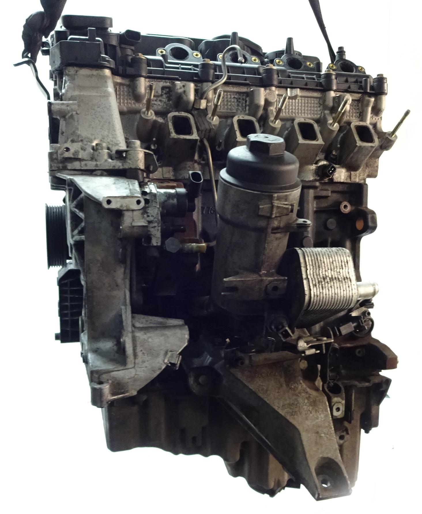 Motor 2004 BMW 1er E87 120d 120 d 2,0 Diesel M47D20 204D4 150 PS mit Anbauteilen