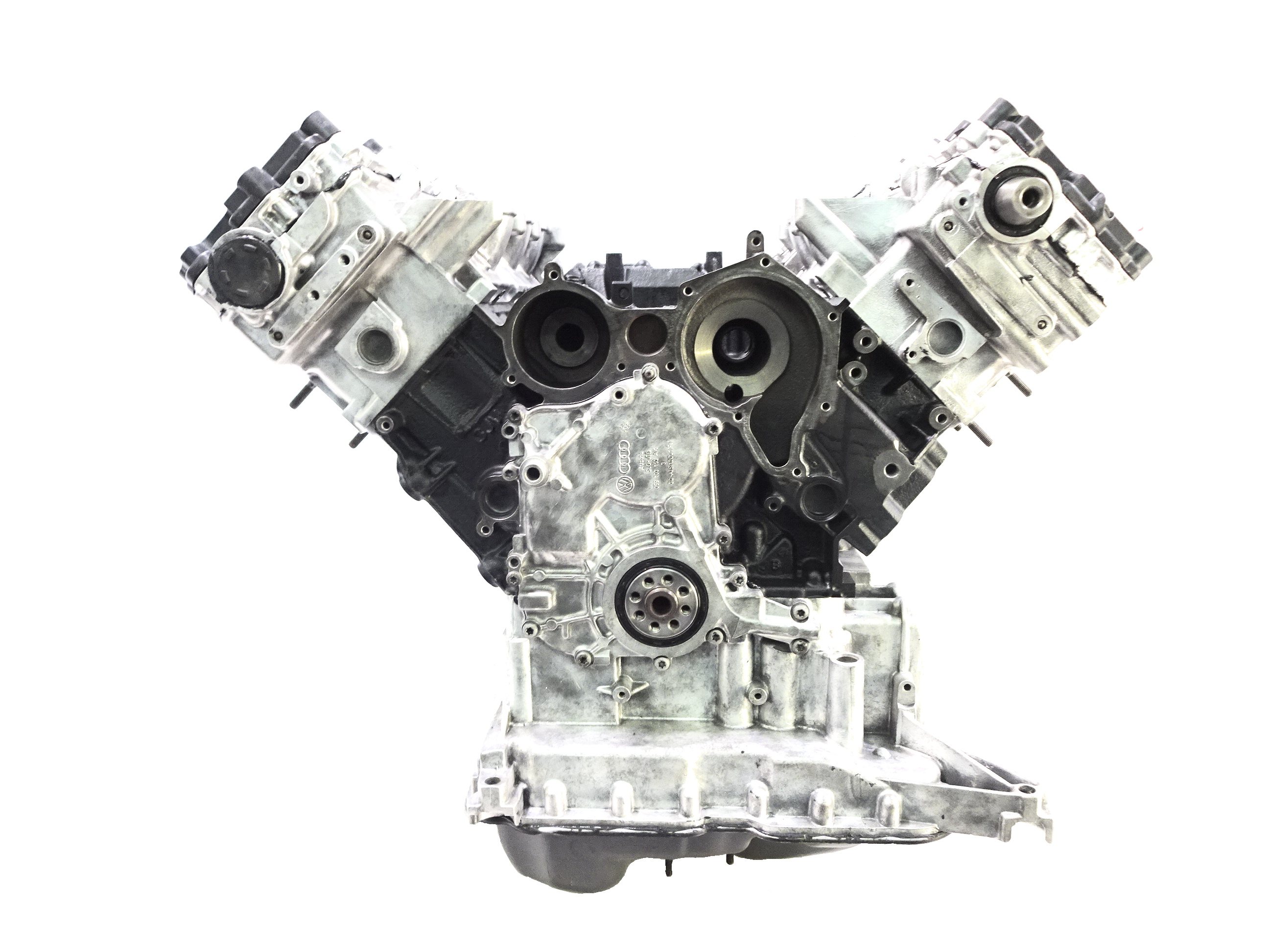 Motor 2006 Audi Q7 4LB 3,0 TDI Quattro BUG Kettensatz Dichtung NEU Köpfe geplant