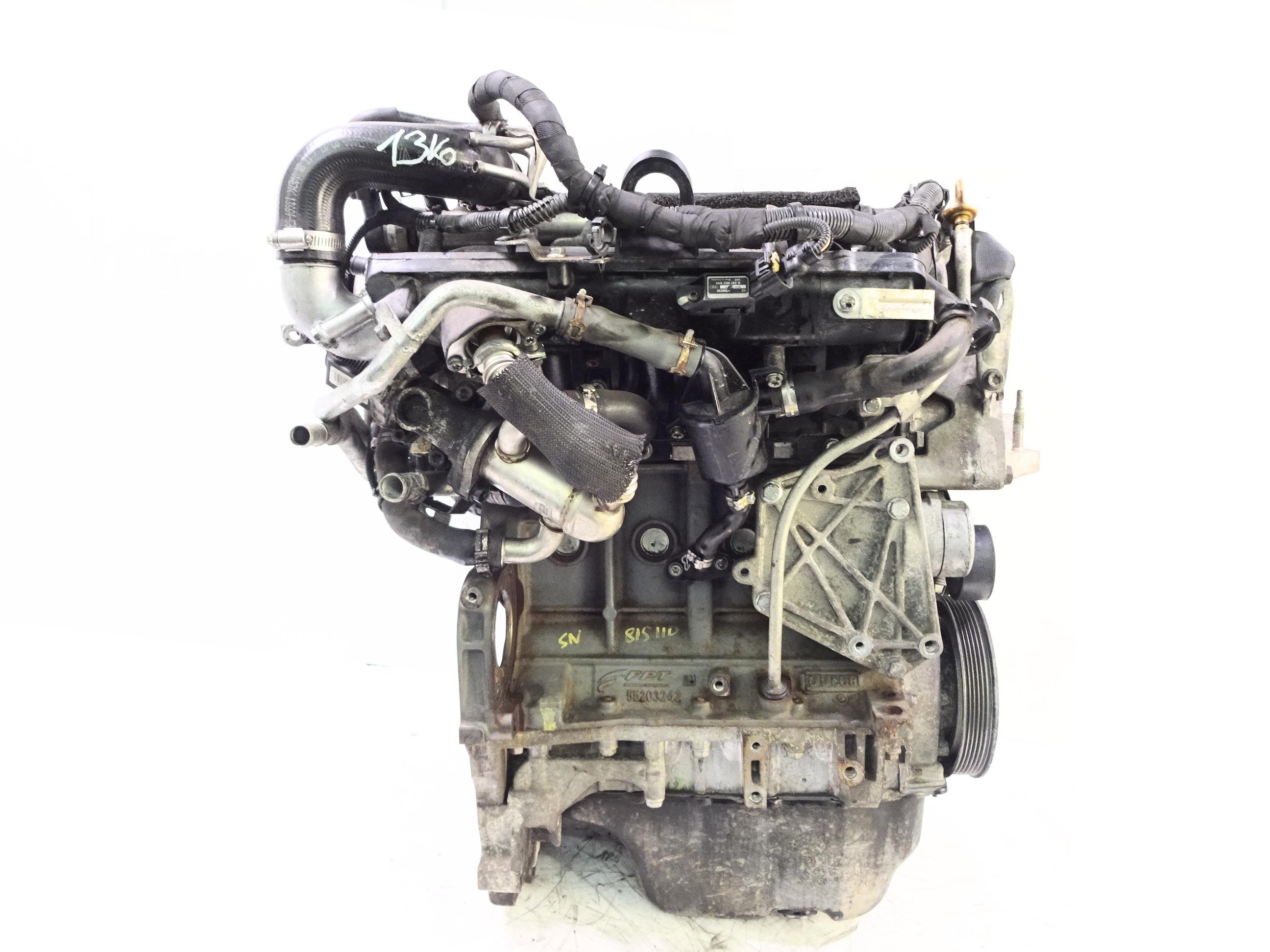 Motor 2010 Suzuki Swift IV 1,3 DDiS Diesel D13A mit Anbauteilen