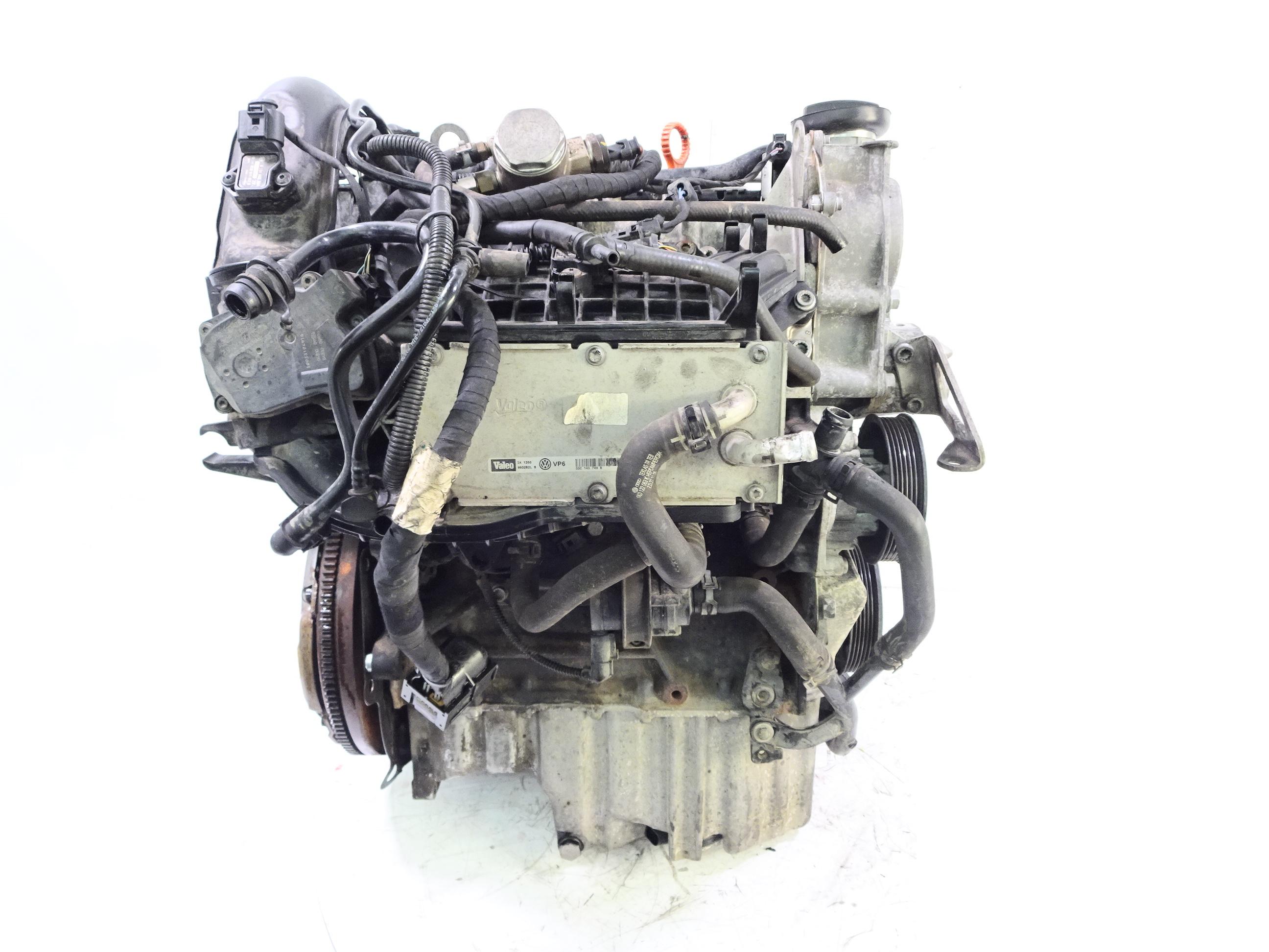 Motor 2012 Audi Seat Skoda VW A1 A3 1,4 TFSI CAX CAXA CAXC mit Anbauteilen