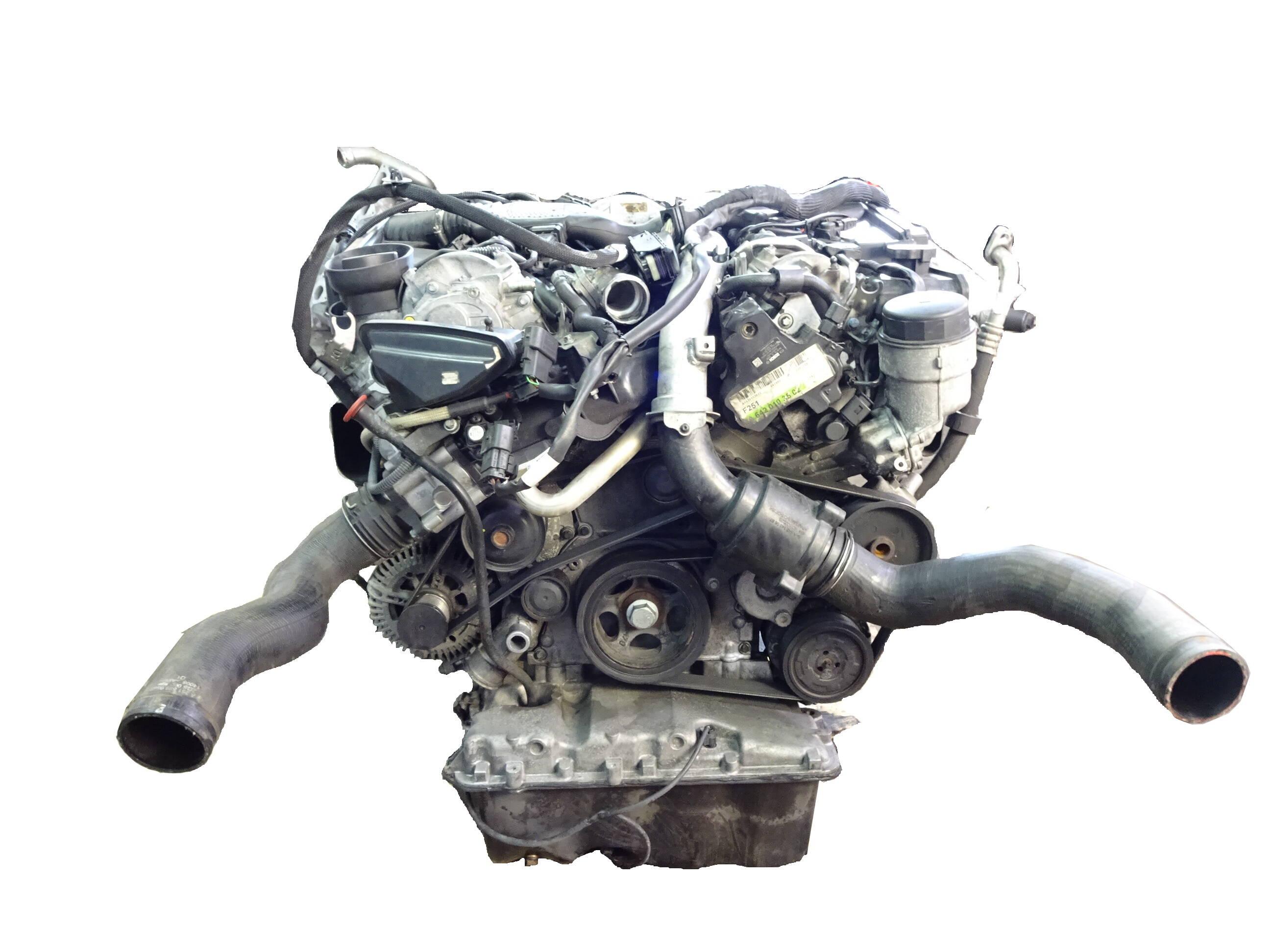 Motor 2007 Mercedes Benz R-Klasse W251 V251 3,0 CDI Diesel 642.950 OM642