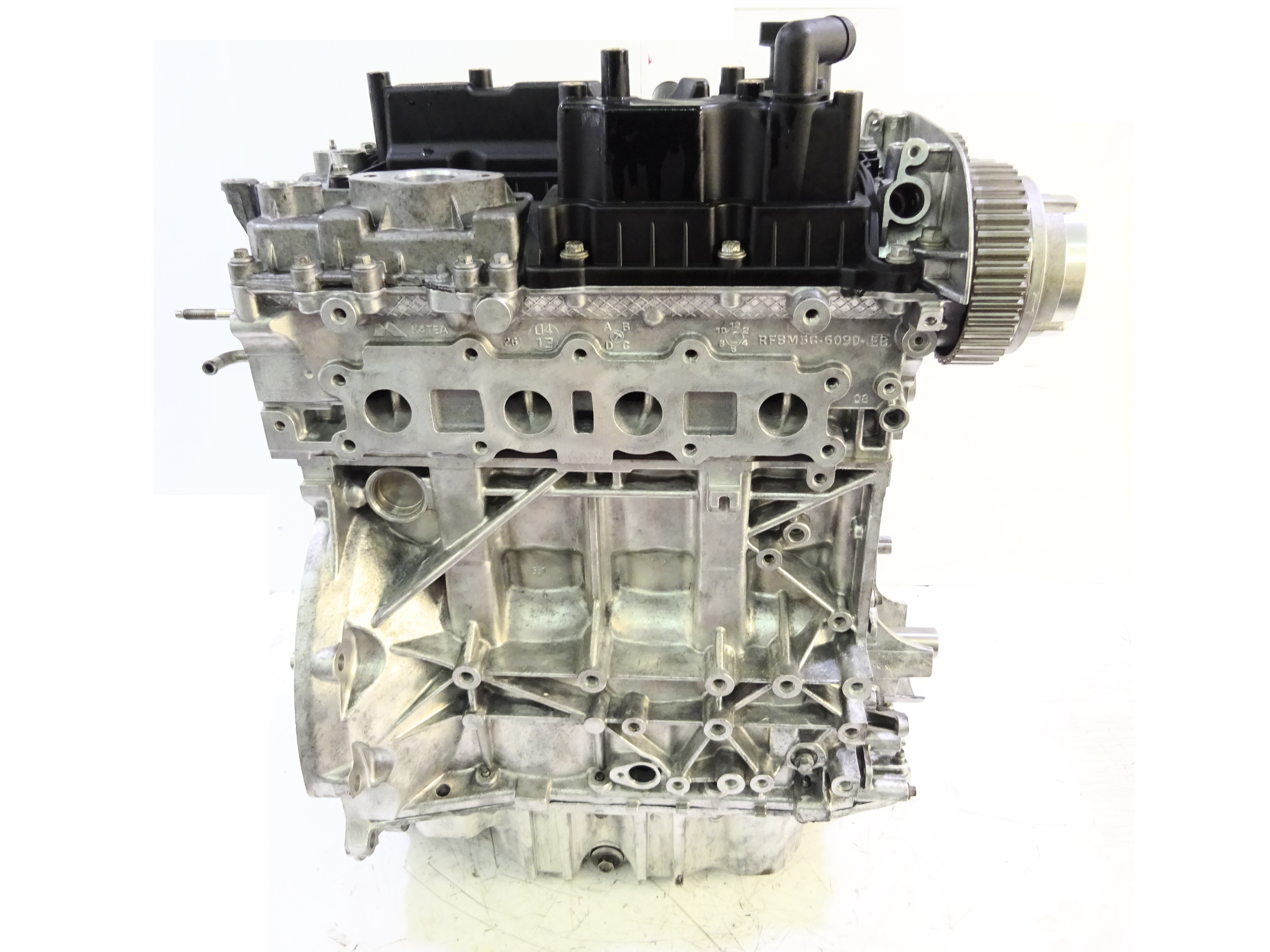 Motor 2014 für Ford Focus C-Max 1,6 EcoBoost JTDB Kopf geplant Kolben NEU