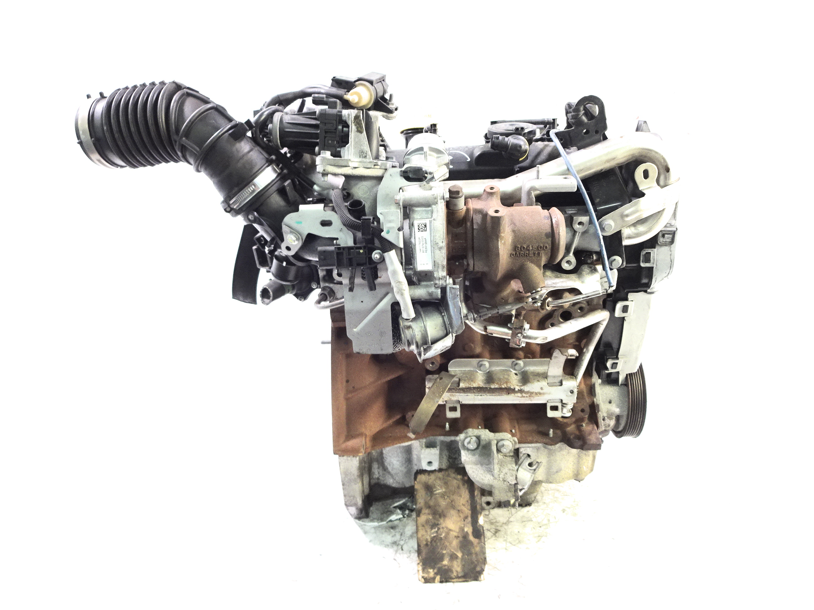 Motor 2014 Renault Captur 1,5 dCi Diesel K9K K9K608 90 PS mit Anbauteilen