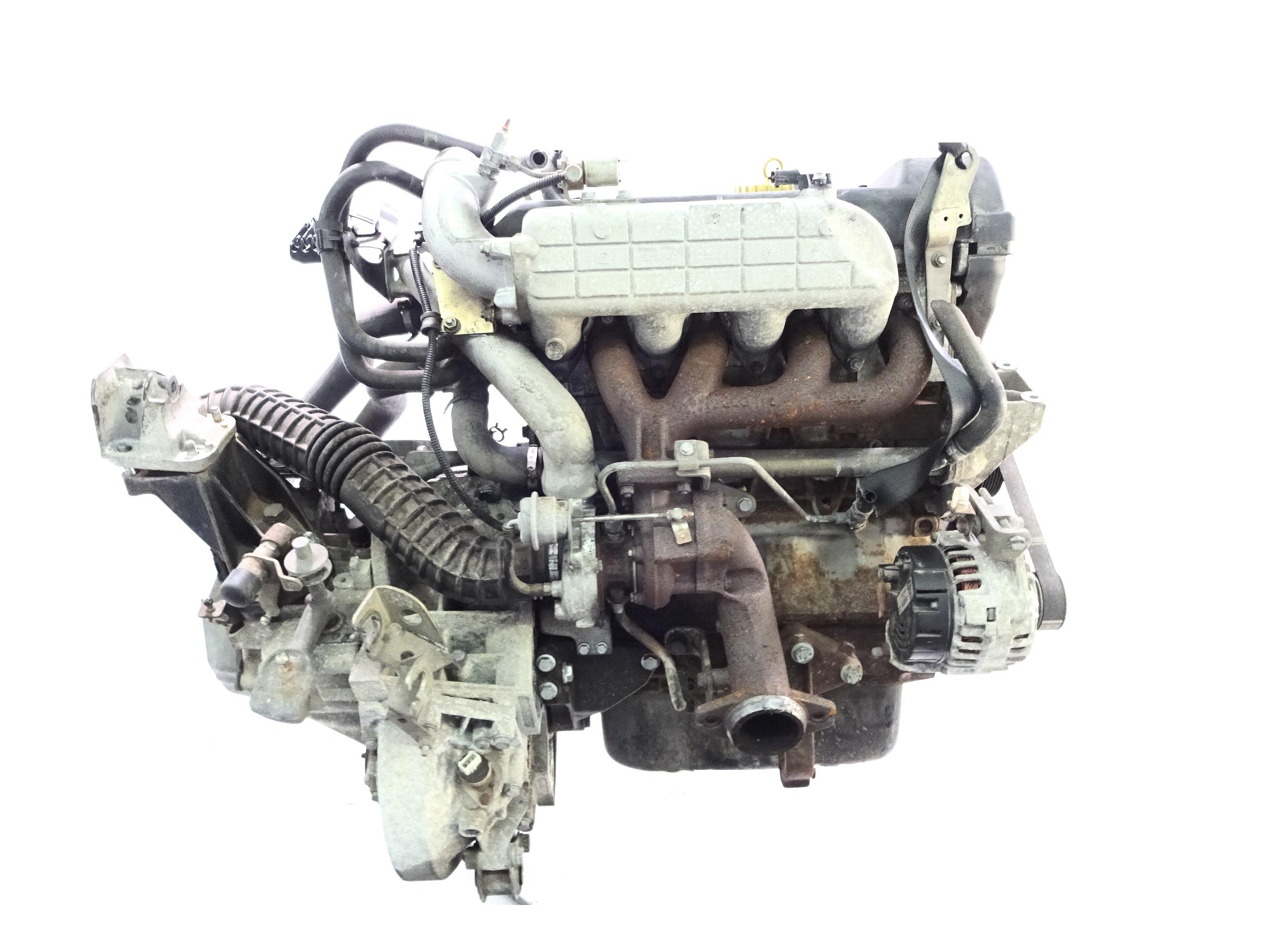 Motor 2005 Fiat 2,8 JTD 814043S 814043 mit Getriebe und Anbauteilen DE338772