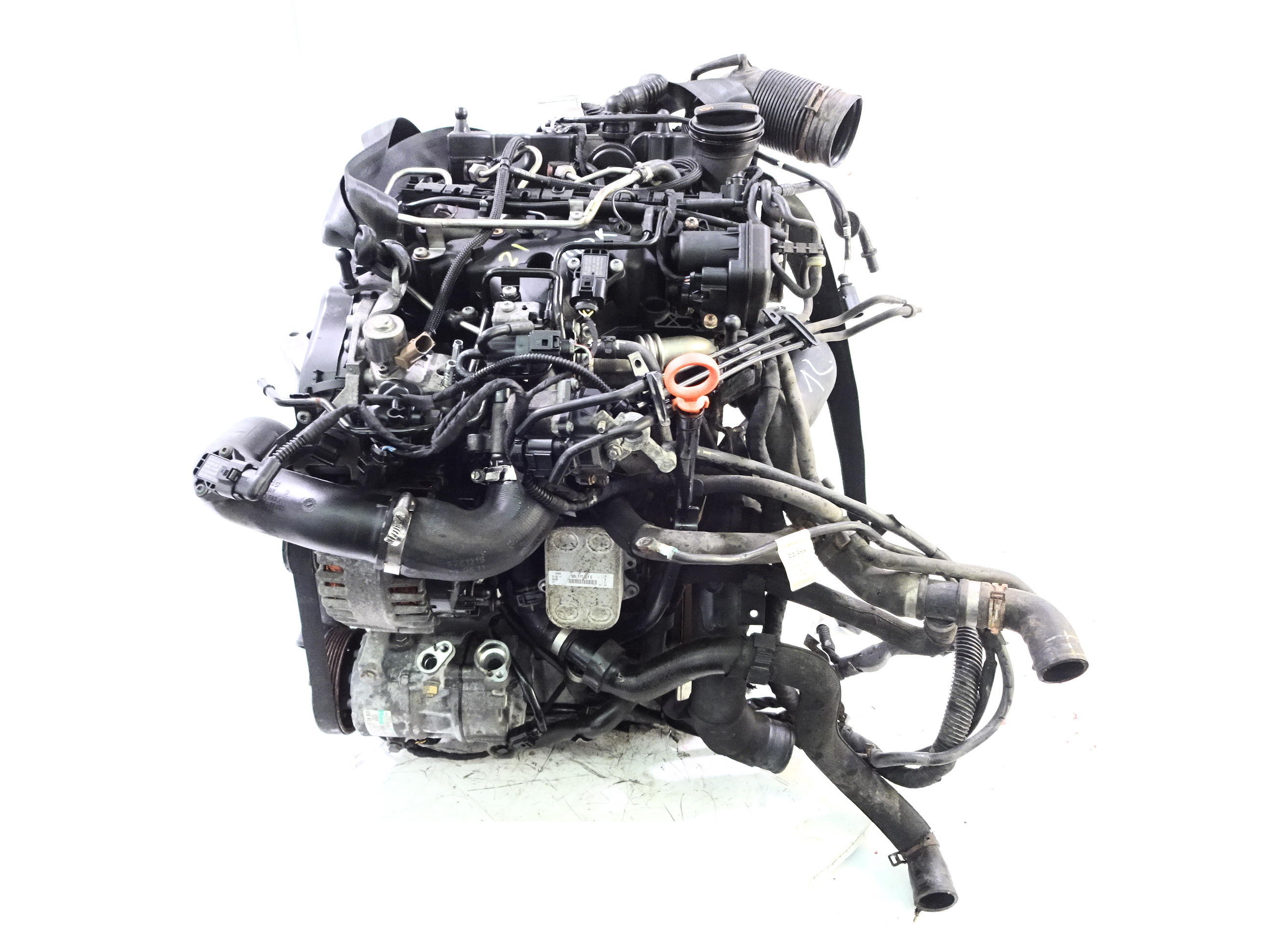 Motor 2011 Seat Skoda VW 1,2 TDI CFW CFWA mit Anbauteilen DE338775