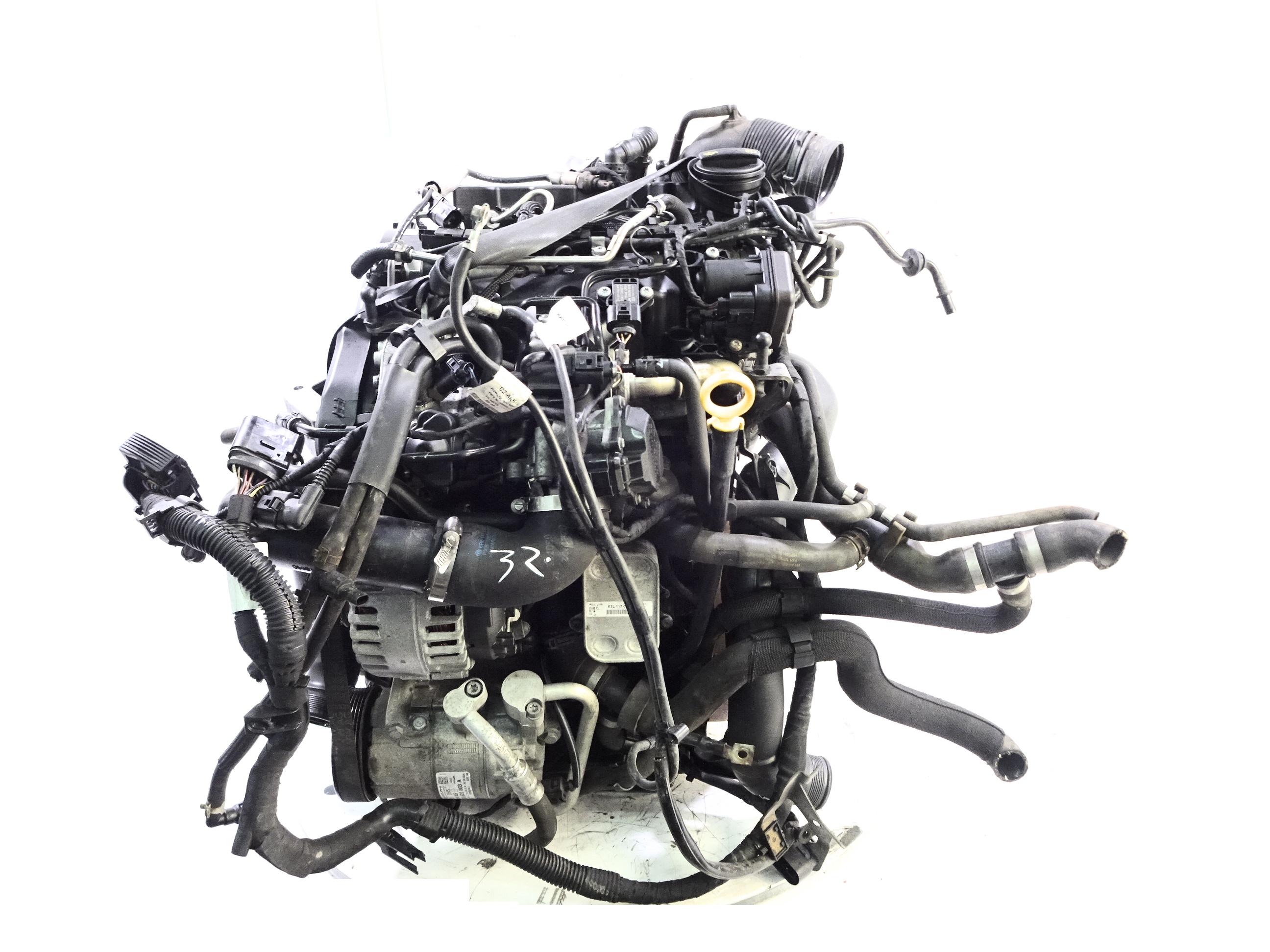 Motor 2014 Seat Skoda VW Ibiza Fabia Polo 1,2 TDI CFW CFWA mit Anbauteilen