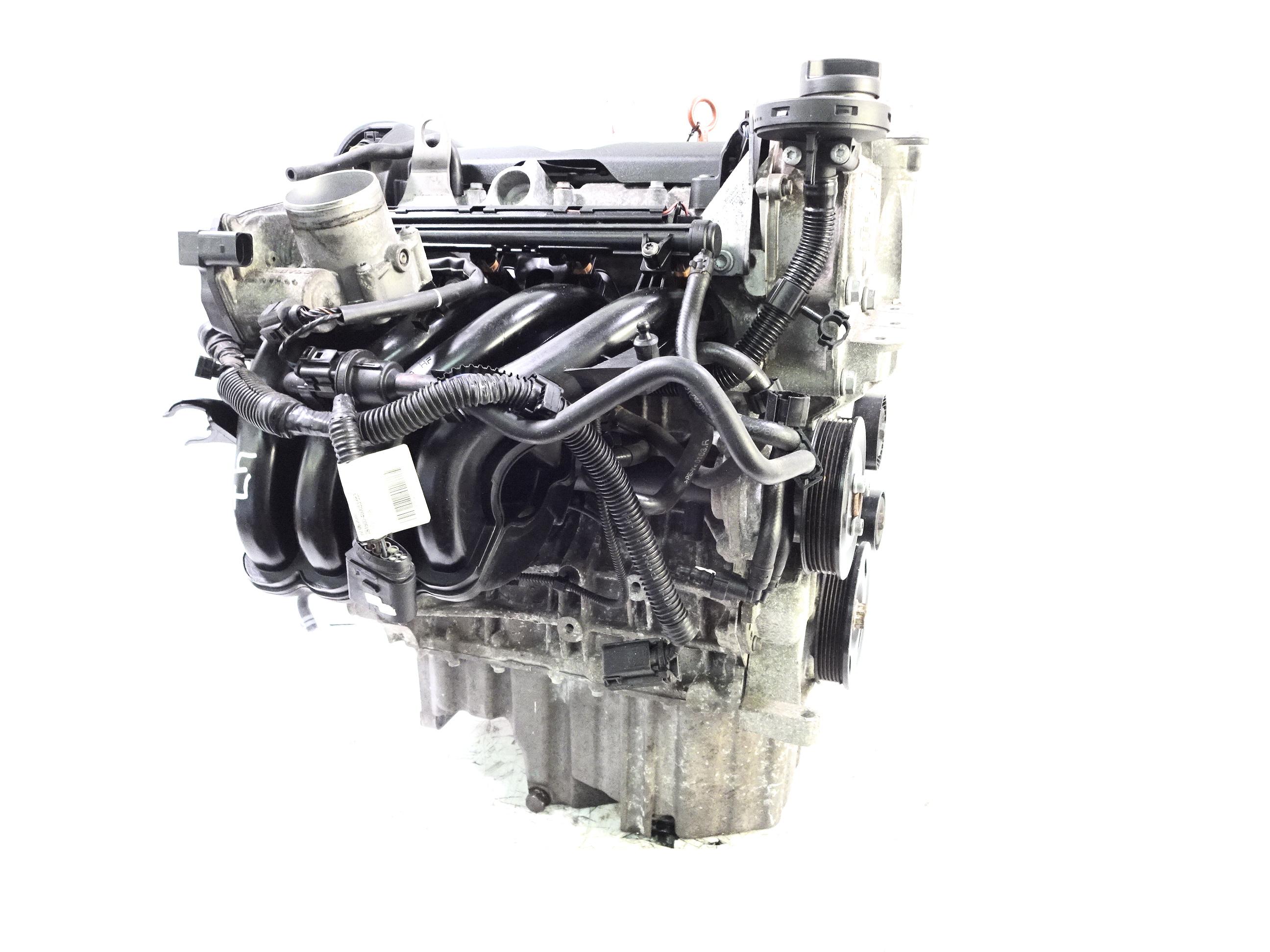 Motor 2008 Skoda 1,6 BTS 105 PS mit Anbauteilen