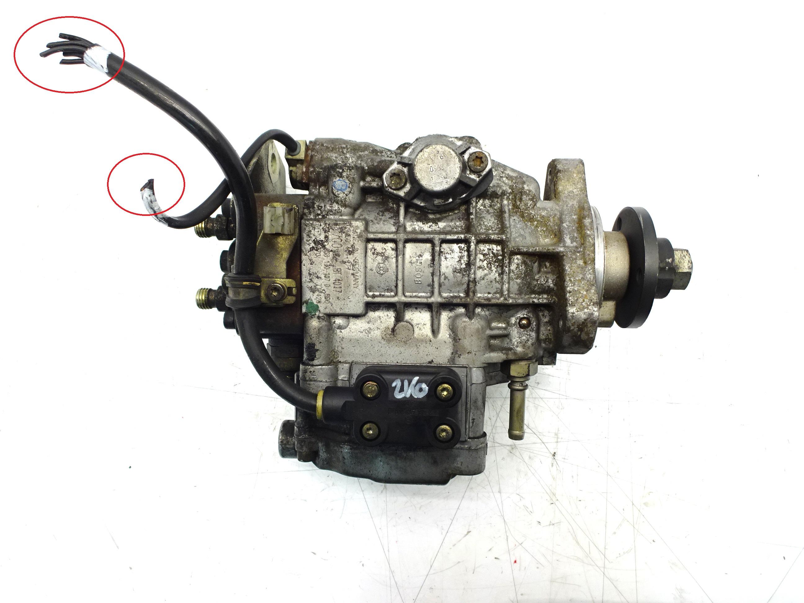 Hochdruckpumpe Defekt Audi Seat Skoda VW Bora Golf 1,9 TDI ATD 038130107D