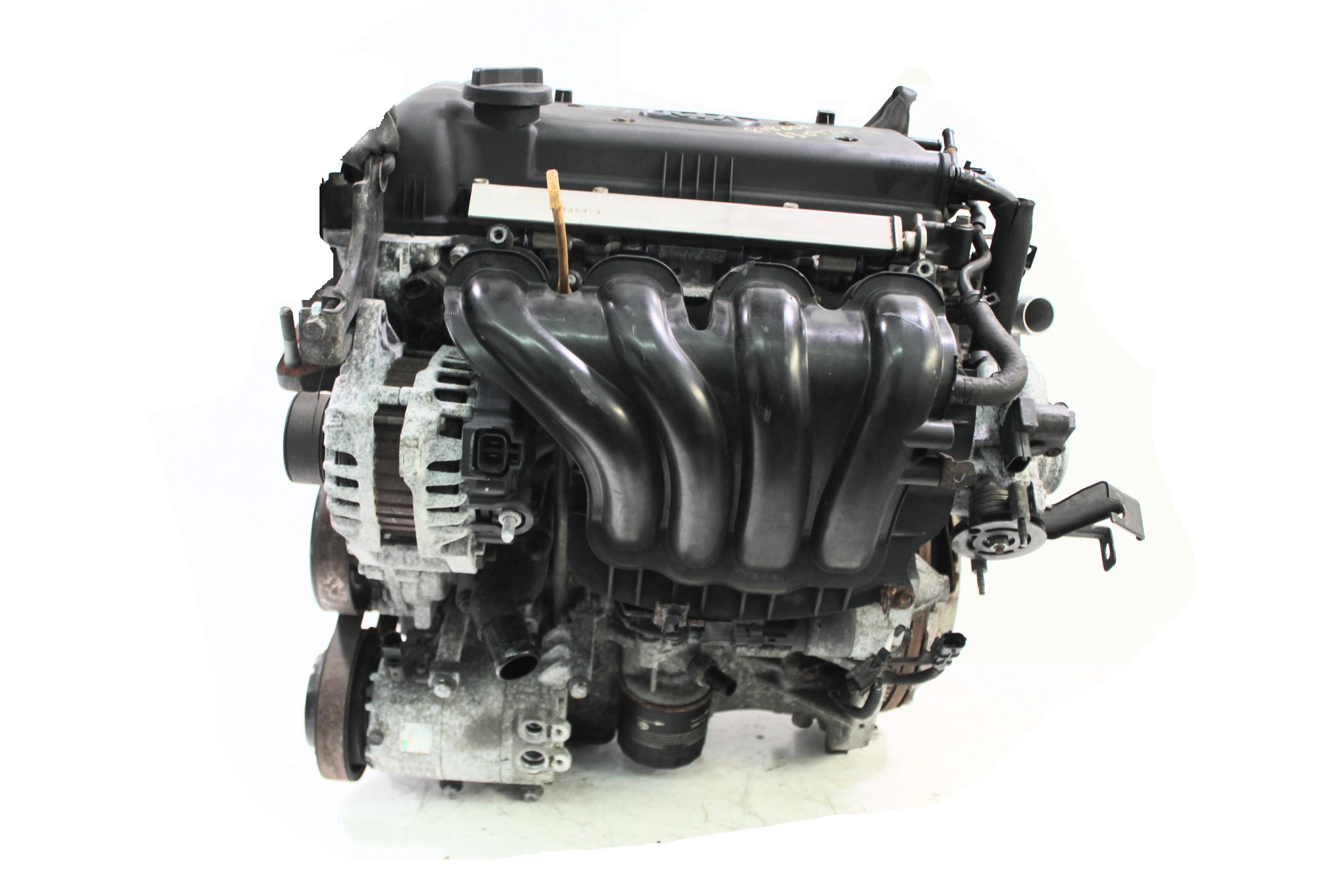 Motor 2010 Kia Soul AM 1,6 CVVT Benzin G4FC mit Anbauteilen