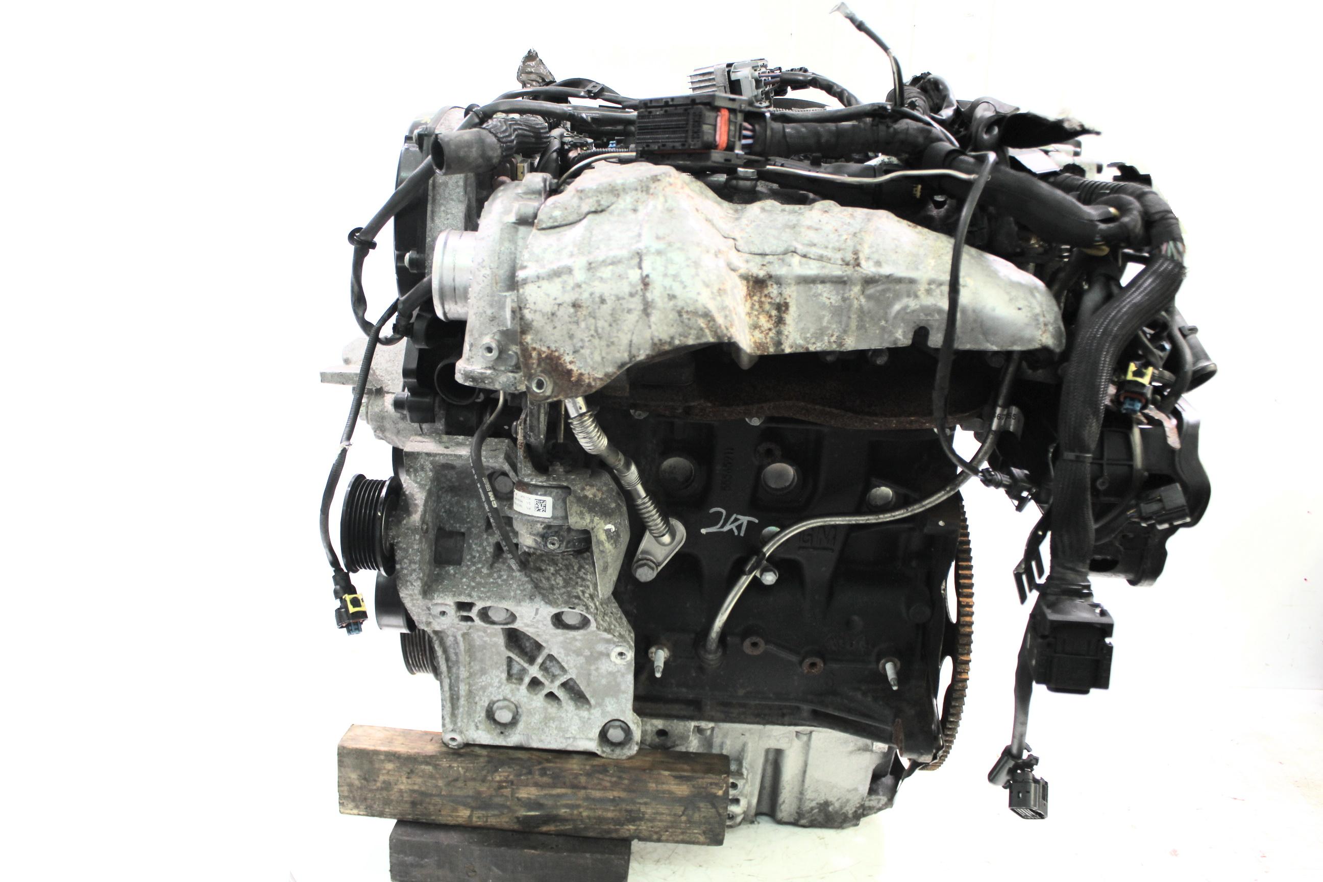 Motor 2012 Opel Zafira C 2,0 CDTi Diesel A20 A20DTH 165 PS mit Anbauteilen