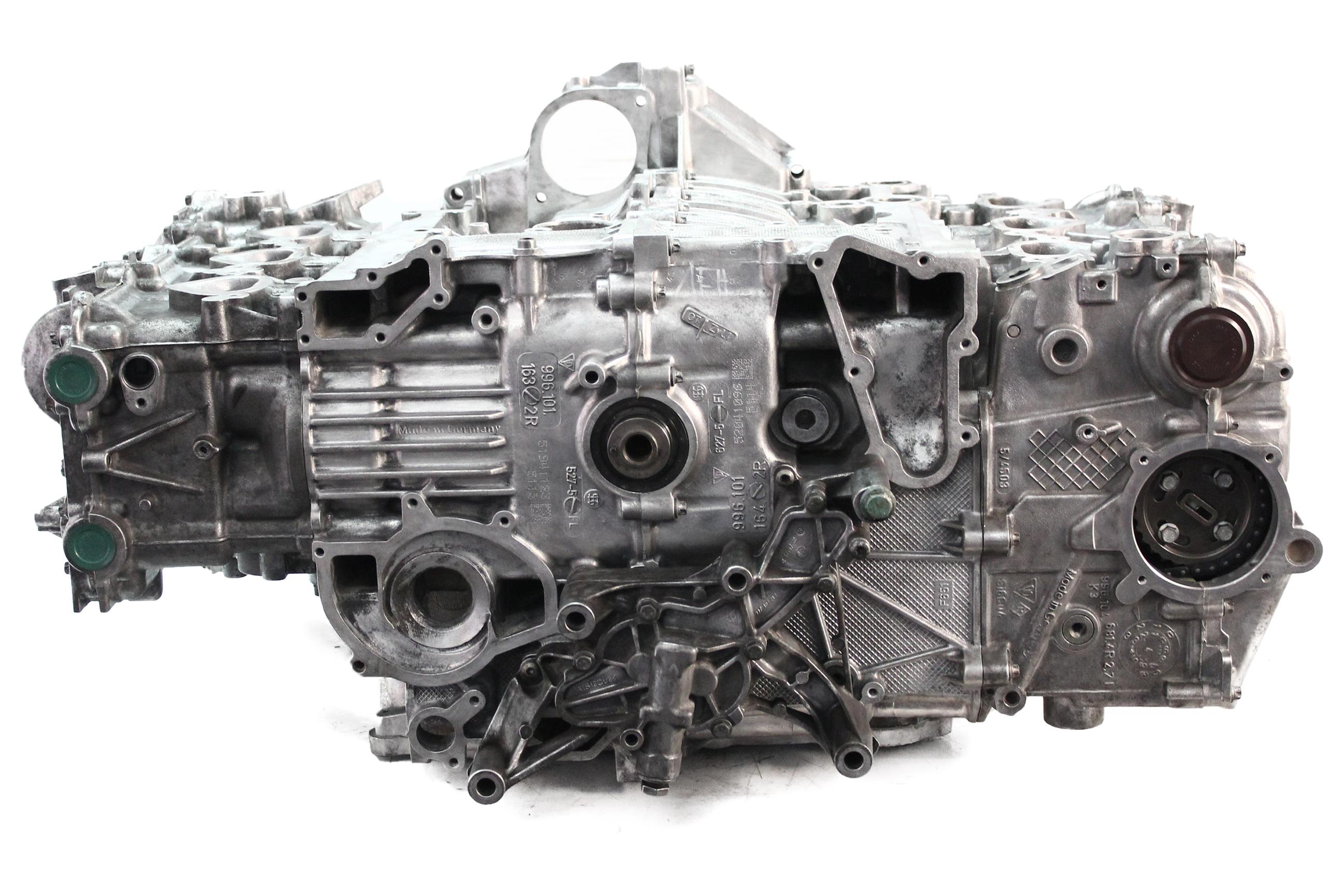 Motor 2005 Porsche Boxster 987 2,7 M96.25 96.25 Kettensatz NEU Köpfe geplant