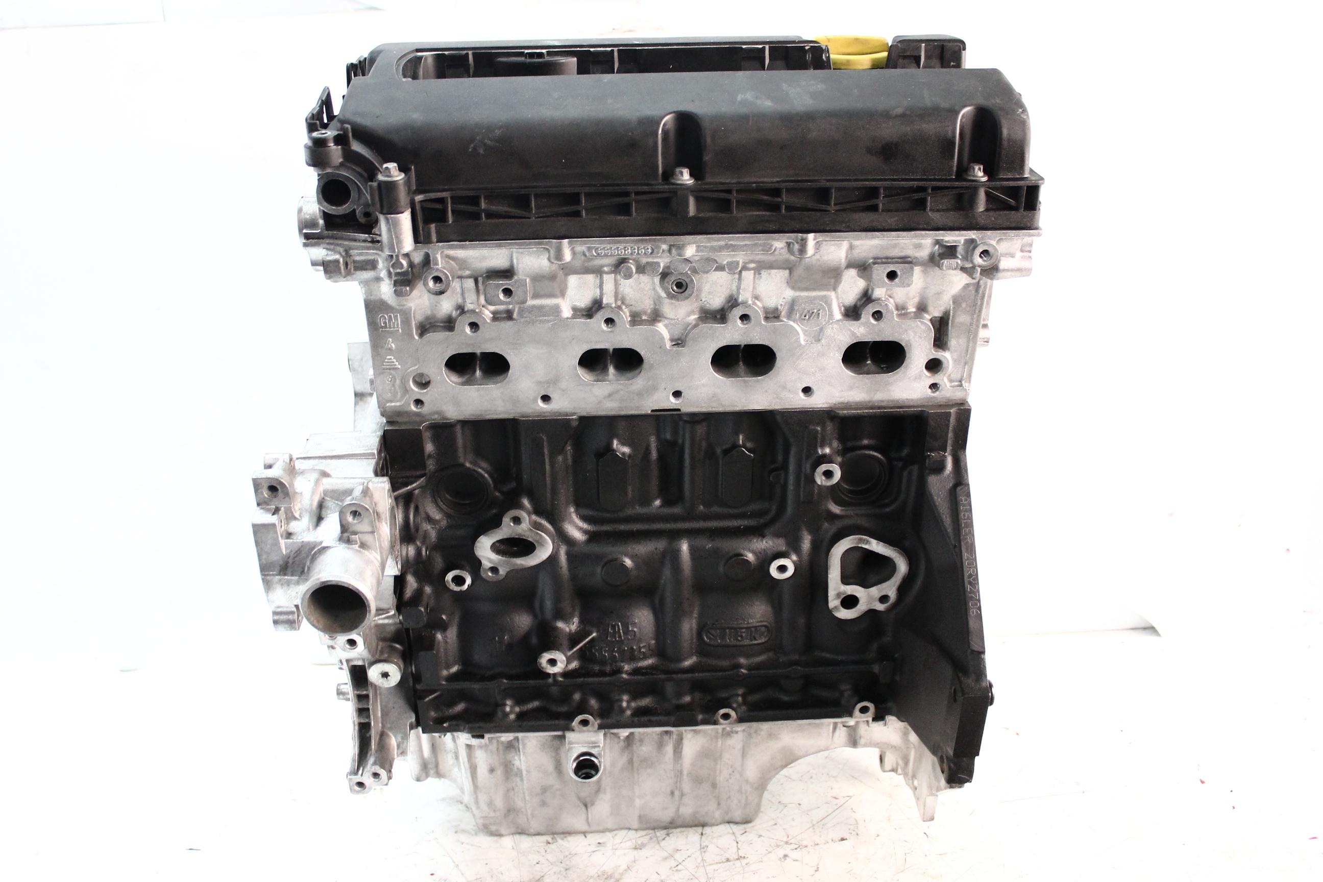 Motor 2010 Opel Corsa D 1,6 Turbo Benzin A16LER A16 Kopf geplant Dichtungen NEU