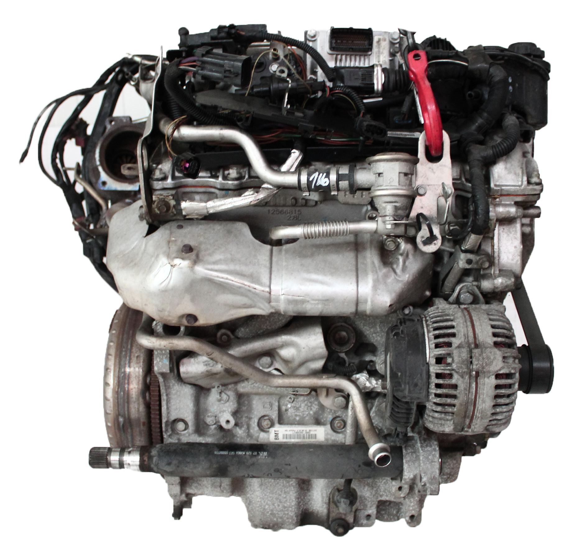 Motor 2007 Opel Vectra C Signum 2,8 V6 Z28NET Z28 250 PS mit Anbauteilen