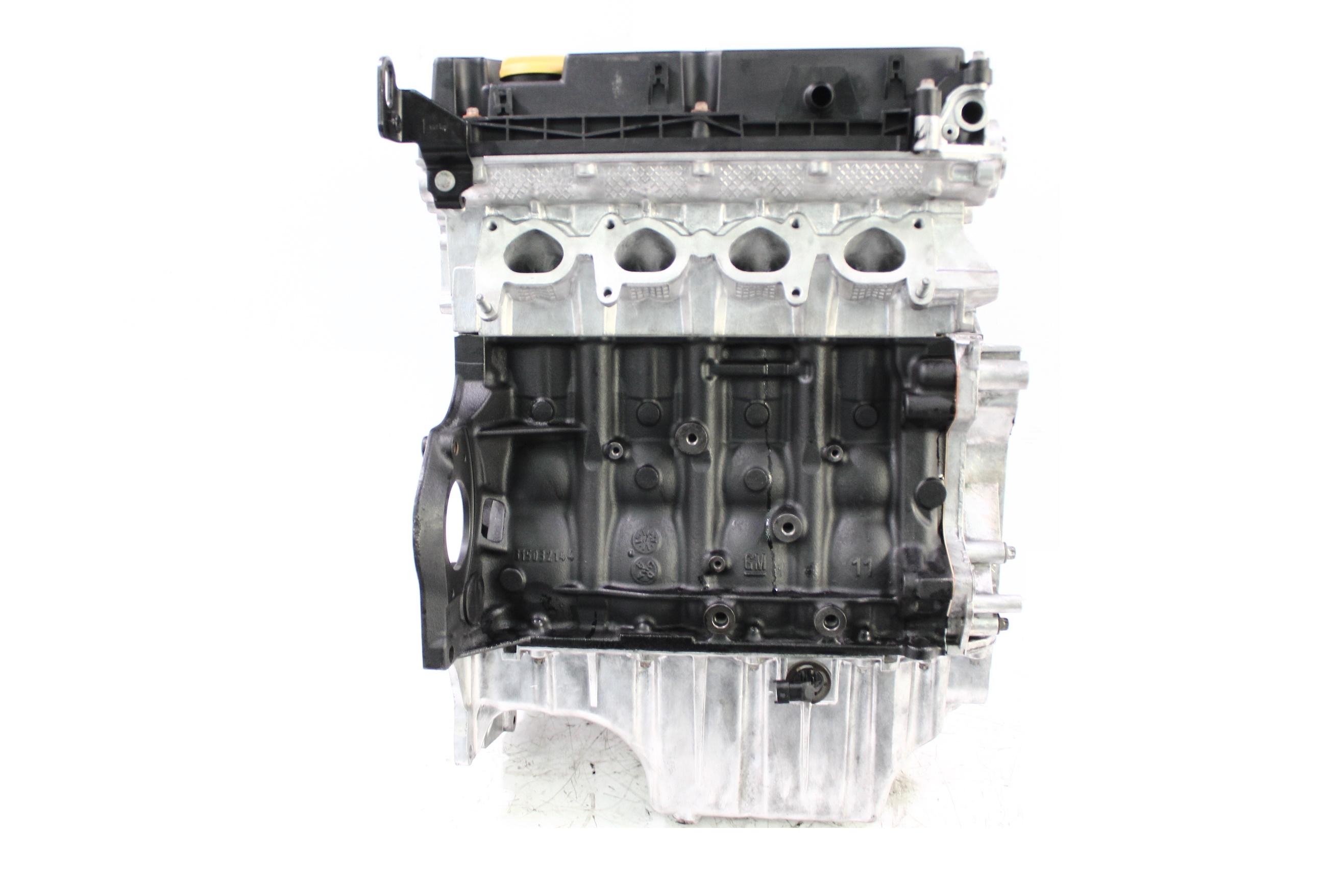 Motor 2012 Opel 1,6 Turbo A16LER Kolbenringe Dichtung NEU Kopf geplant