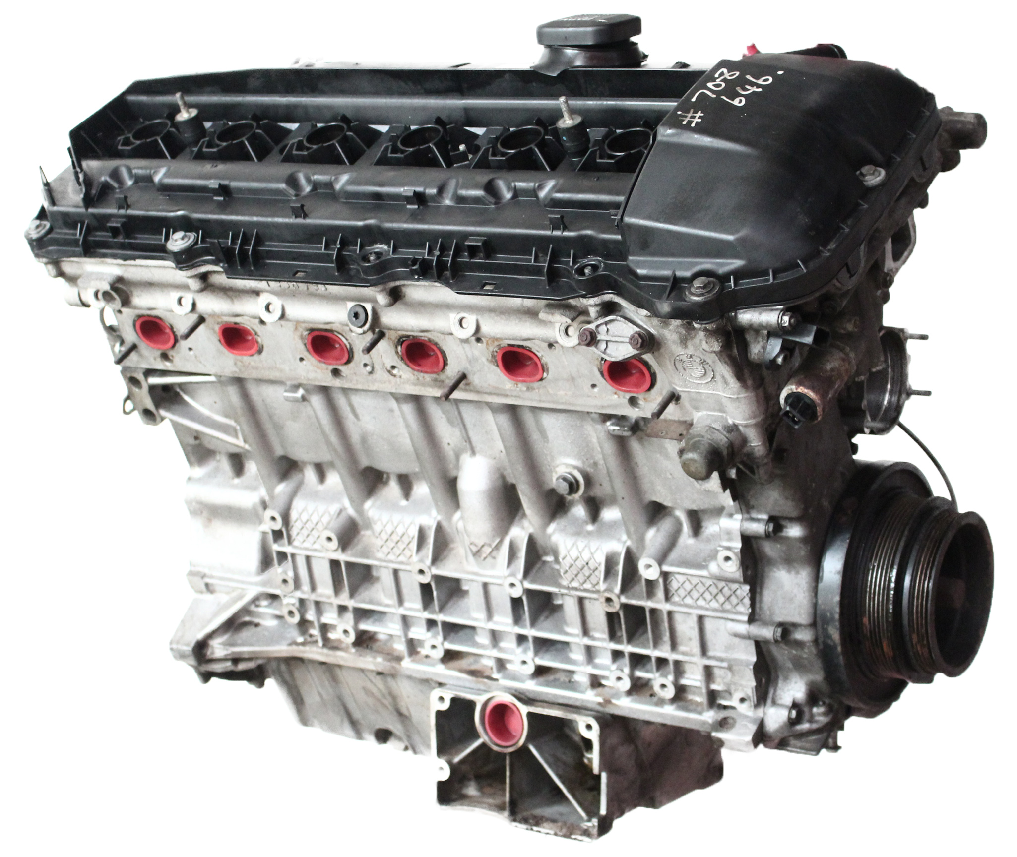 Motor 2005 BMW E83 X3 2,5 i Benzin M54 M54B25 256S5 192 PS