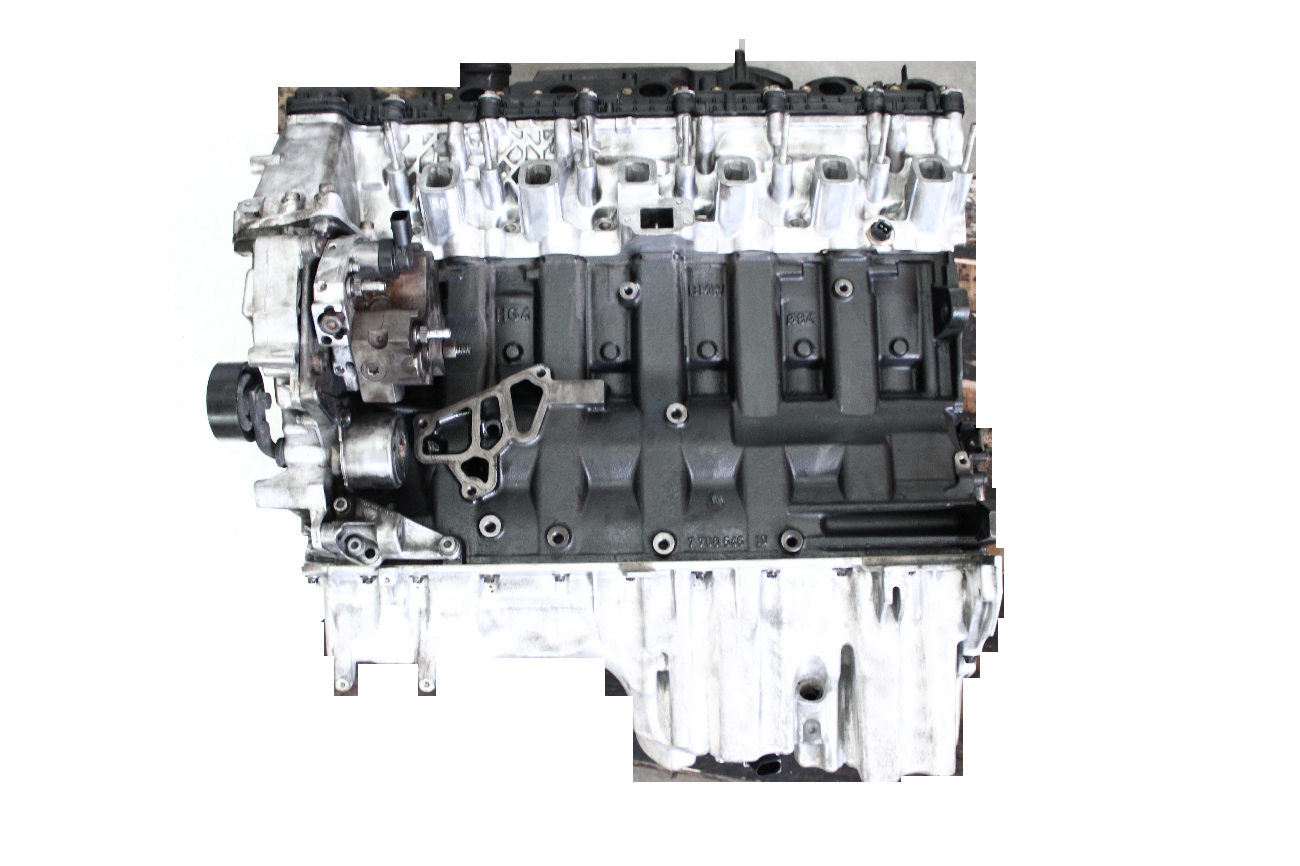 Motor BMW 2,5 Diesel D M57 M57D25 256D2 Zylinderkopf geplant