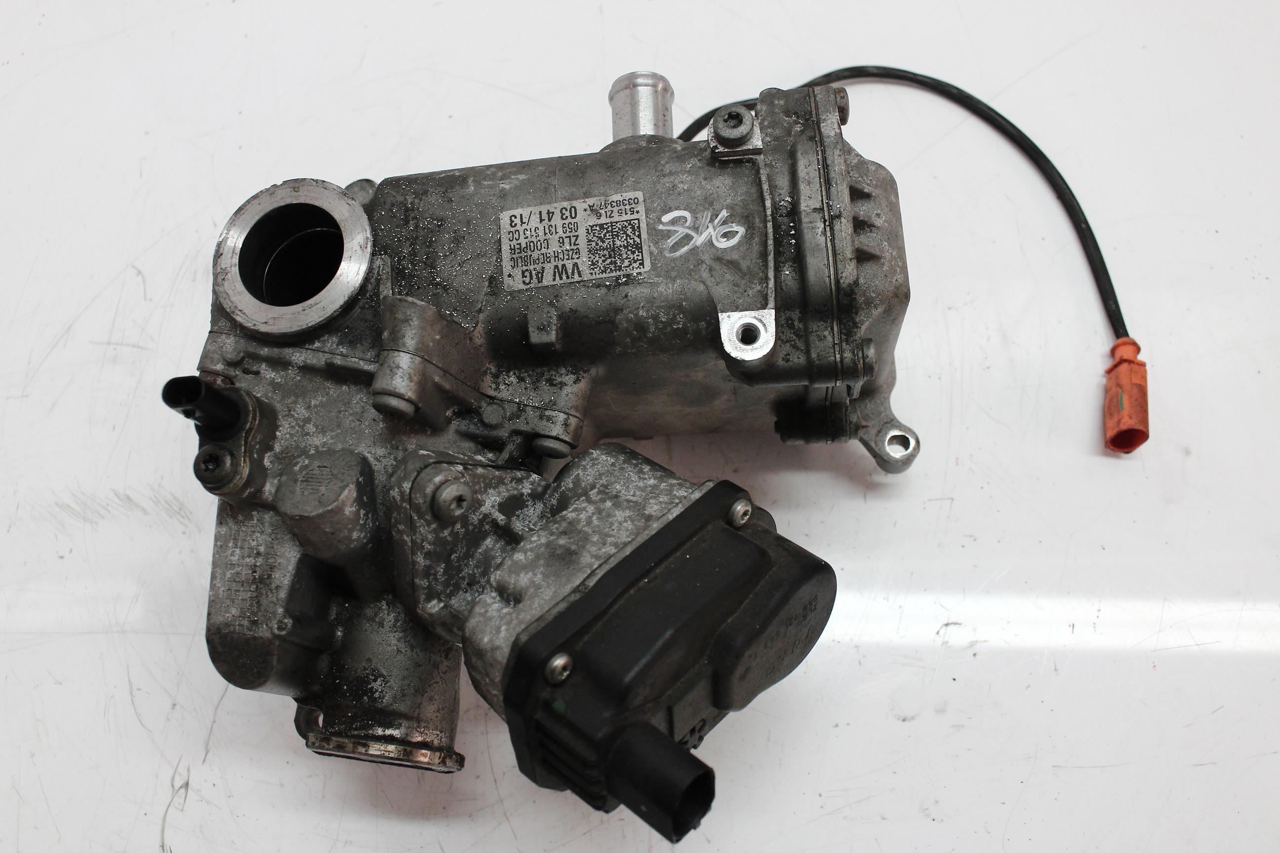 Abgaskühler Audi A4 A5 A6 A7 Q5 3,0 TDI Diesel CDU CDUC CDUD 059131515GG