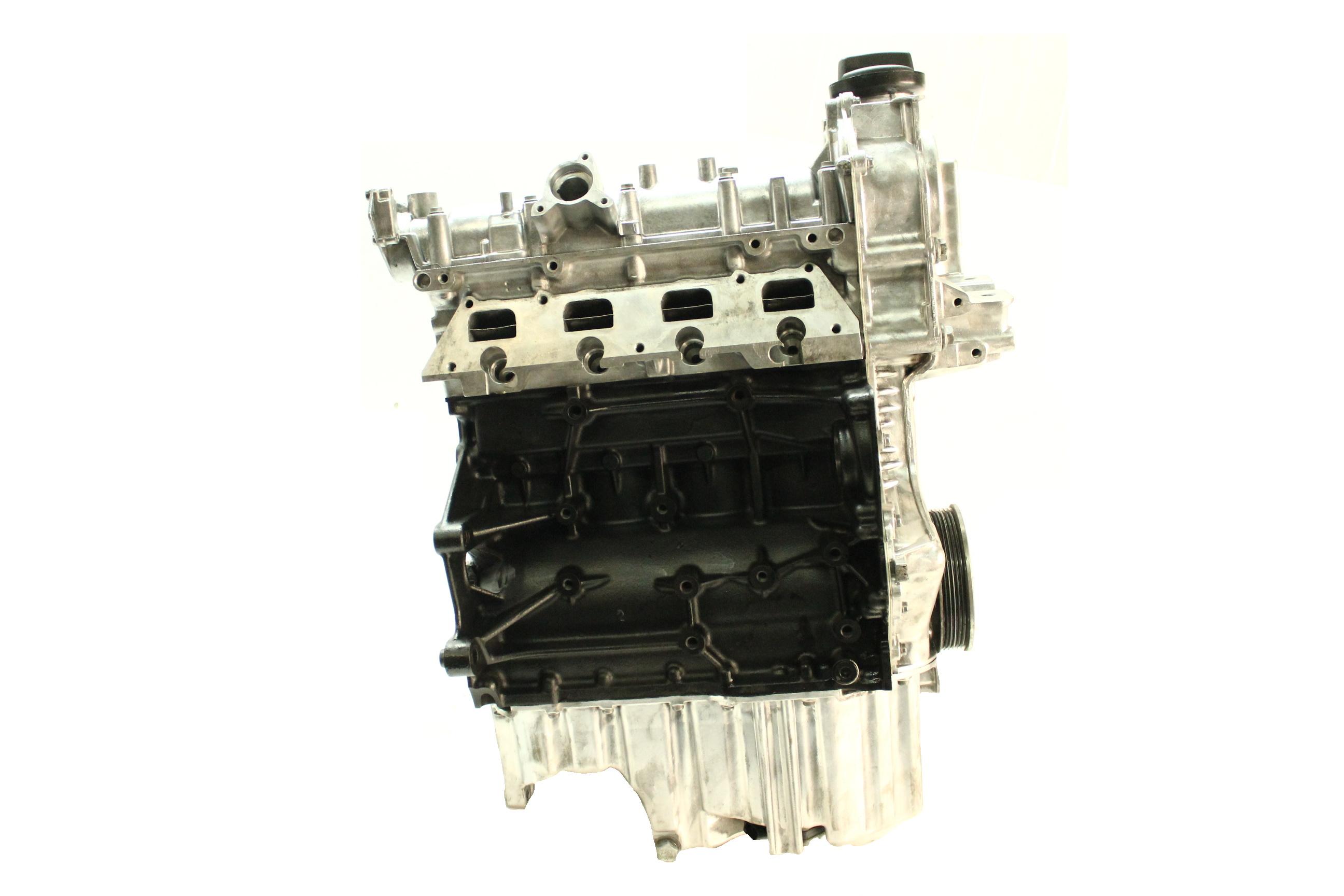 Motor Überholt 2008 VW Jetta 1,4 TSI BLG Kolben Kettensatz Dichtung NEU