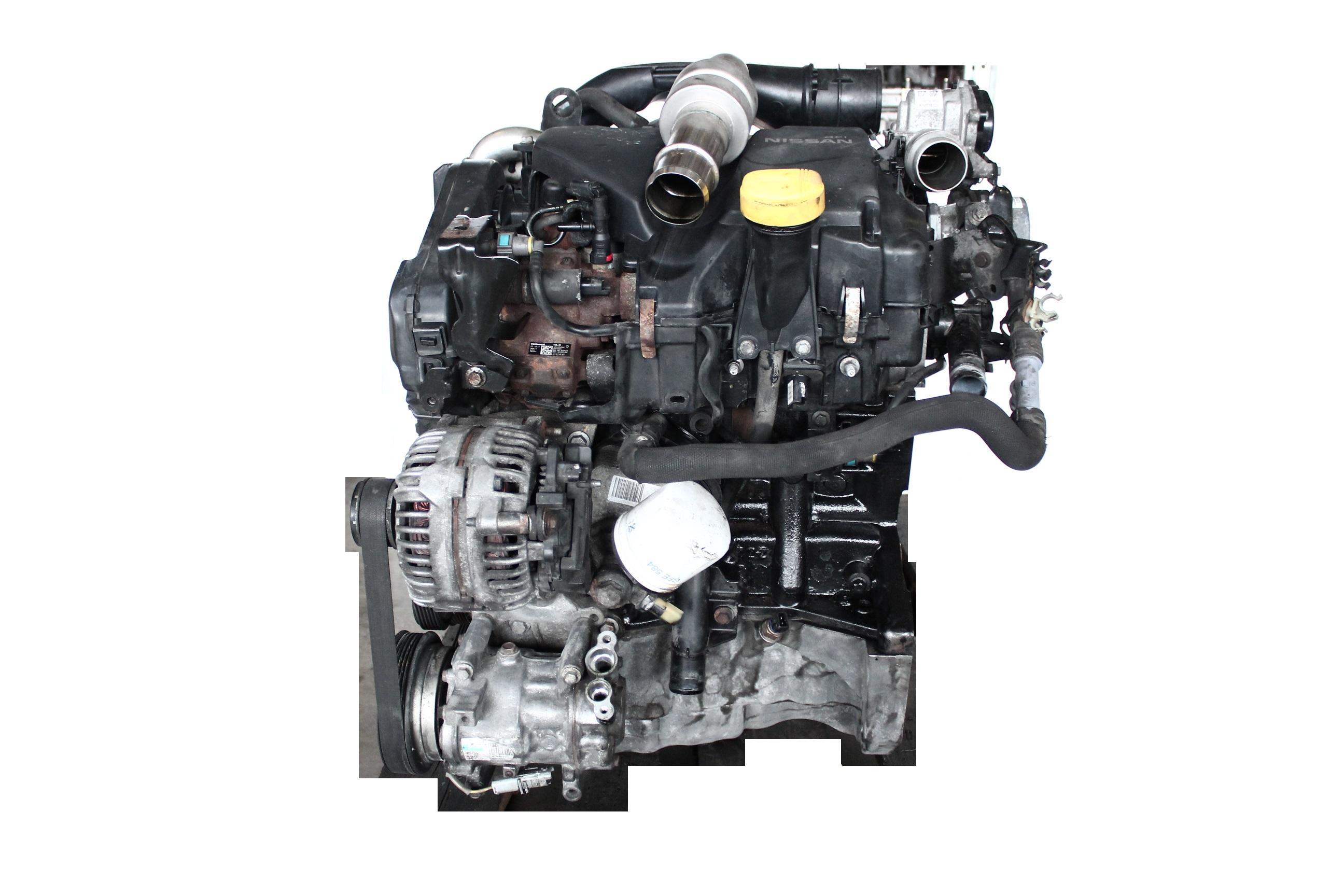 Motor 2011 für Nissan 1,5 dCi Diesel K9K K9K460