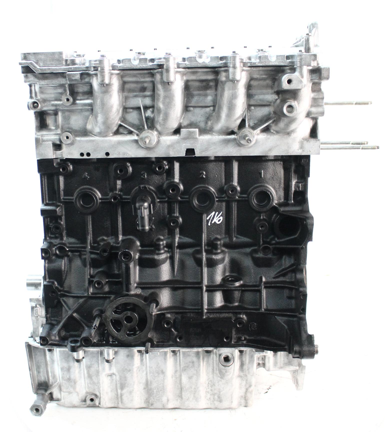 Motor 2008 Ford Galaxy 2,0 TDCi AZWA RHR Kopf geplant Neue Zylinderkopfdichtung