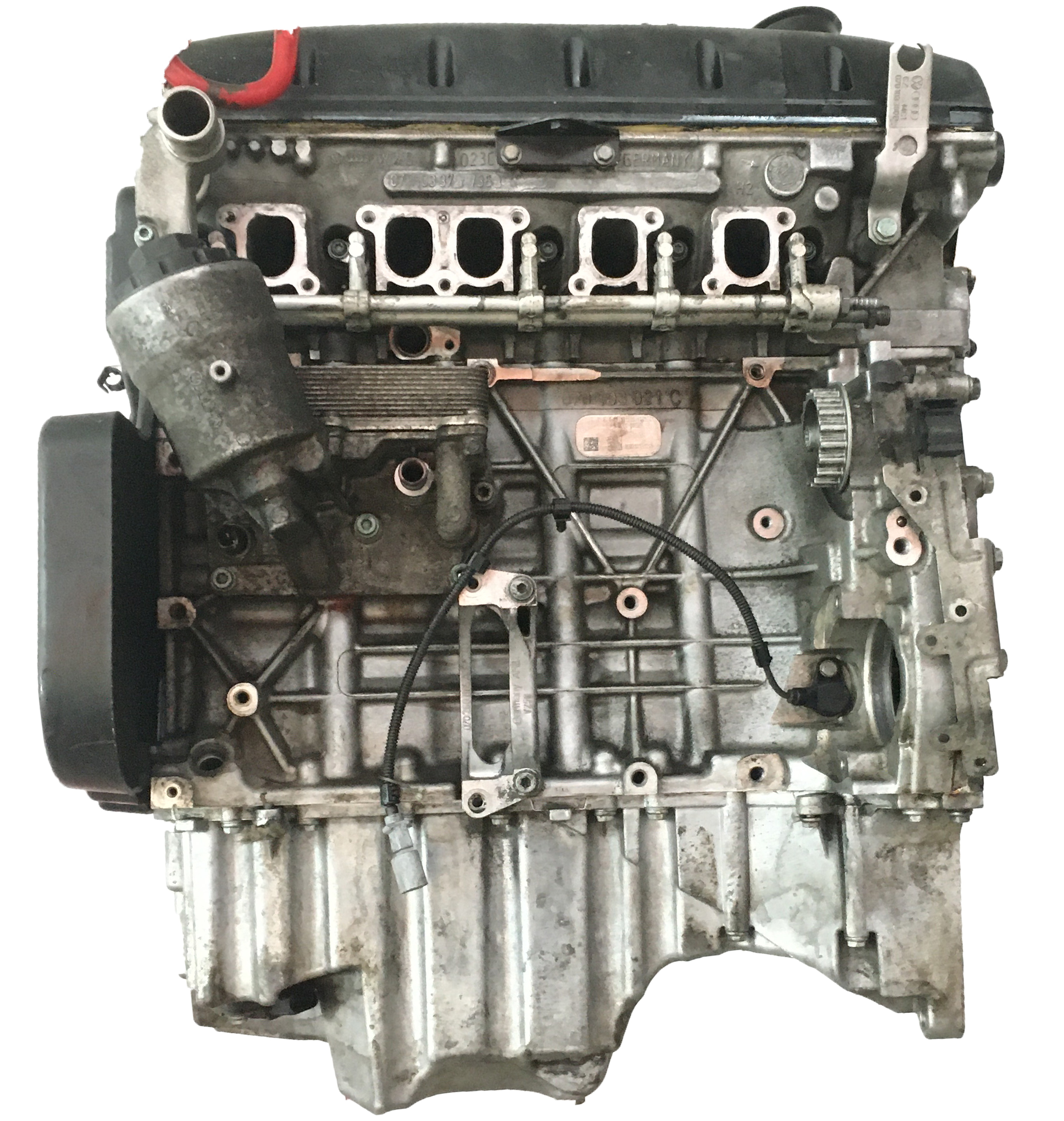 Motor 2007 VW Touareg 7L 2,5 R5 TDI Diesel BAC 174 PS