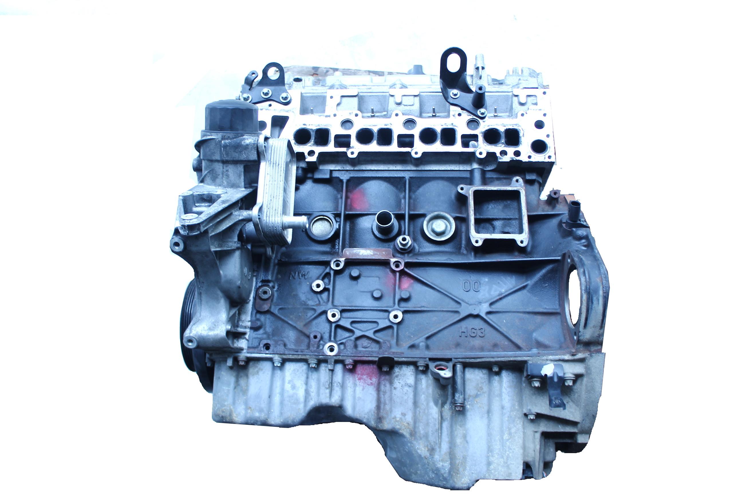 Motor 2006 Mercedes Benz W203 C220 S203 2,2 CDI 646.963 mit Einspritzdüsen