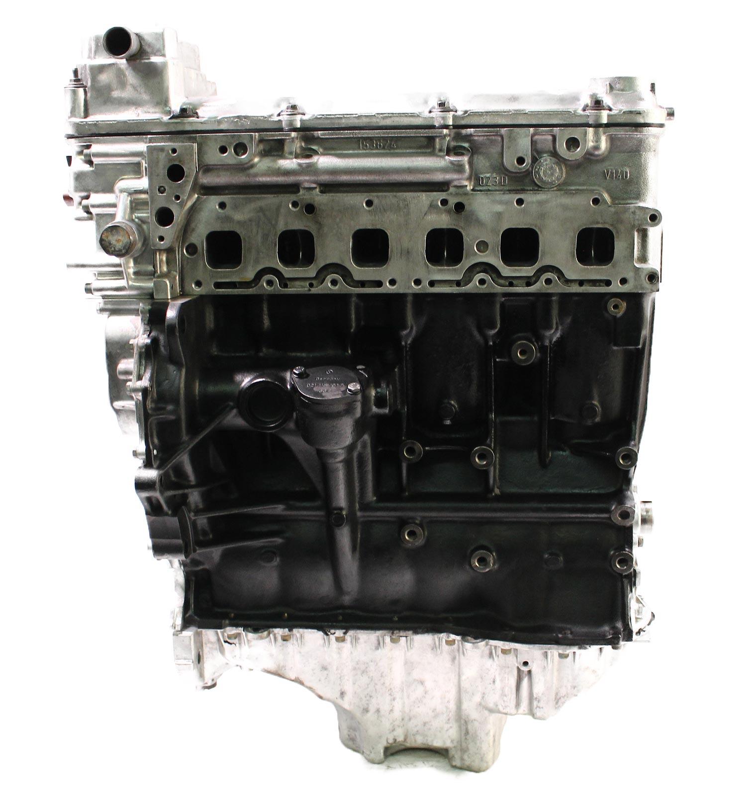 Motor 2004 VW Touareg 7LA 7L6 3,2 V6 AZZ 220 PS Kettensatz ZKD Neu Kopf geplant