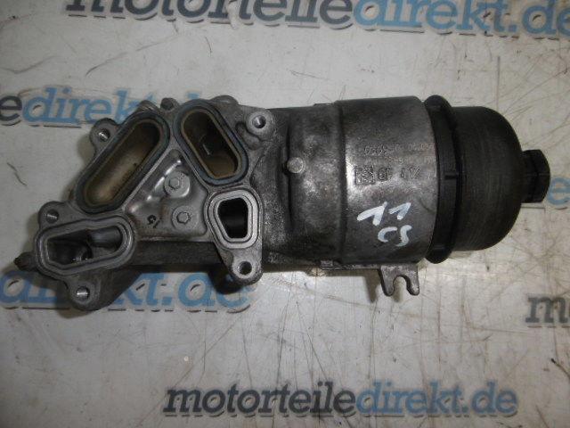 Ölfiltergehäuse Ford C-Max DM2 Focus II 1,6 TDCi Diesel HHDA 9656969980
