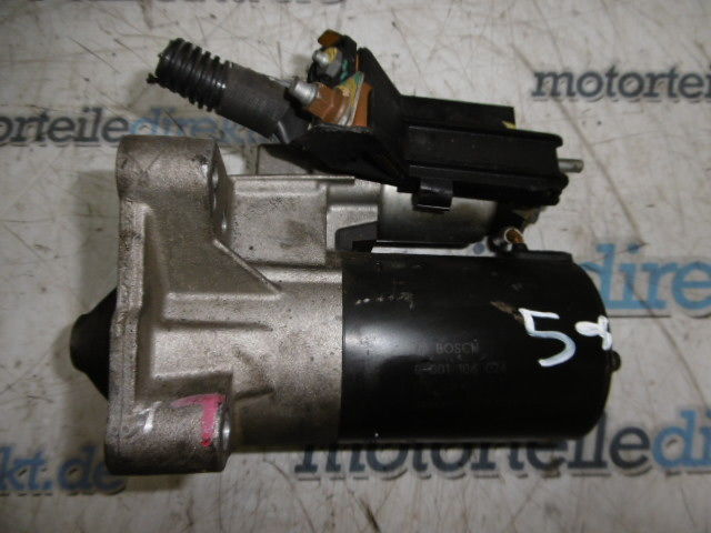 Motor de arranque Renault Megane II Scenic II 2,0 Benzin F4R770 F4R771 8200724