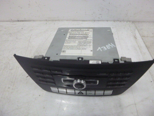 Radio Mercedes Benz C204 Coupe 2,2 CDI 651.911 A2049001108 Navigationssystem