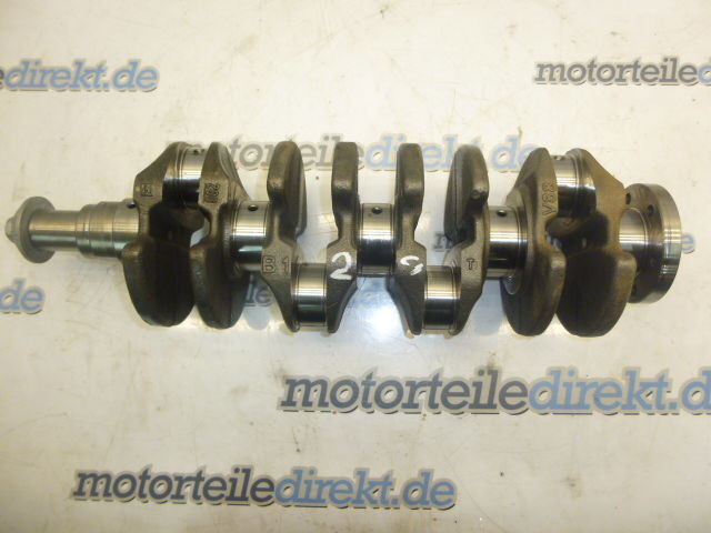 Crankshaft Fiesta VI Ford 1,4 TDCi F6JD
