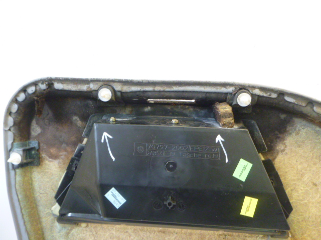 Panneau de porte BMW 525i 5er E39 2,5 Benzin M54B25 256S5 FR195736