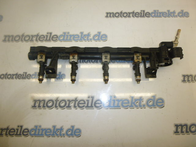 Einspritzleiste Ford Fiesta 6 VI 1,4 Duratec 16V SPJC SPJA 8A6G-9H487-AB