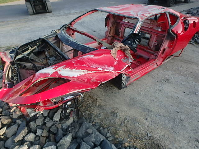 2007 body Body accident car Ferrari F430 Coupe has a 4.3 F136E DE191000