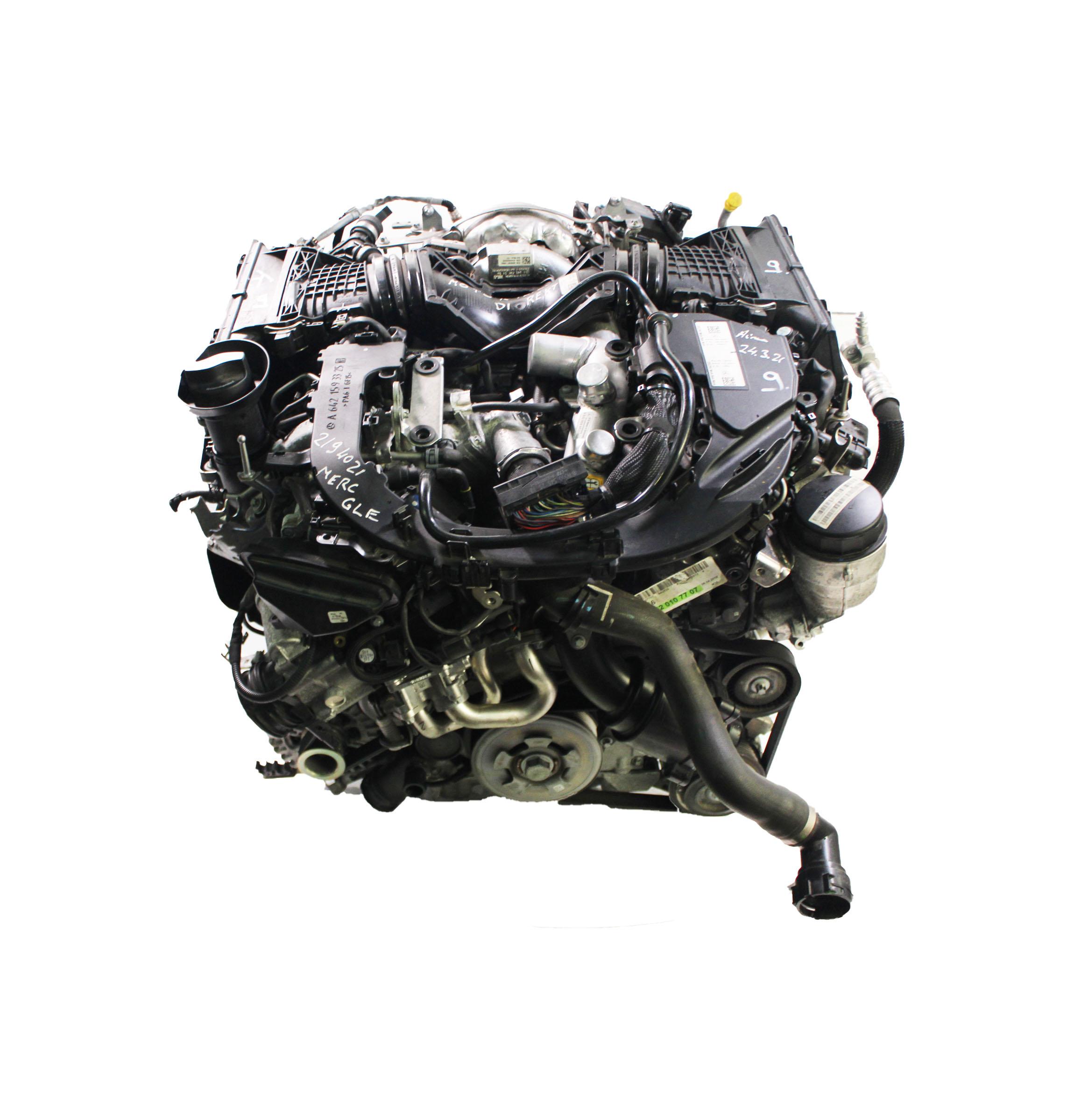 Motor 2018 für Mercedes Benz GLE W166 C295 350d 4-matic 3,0 642.826 OM642.826
