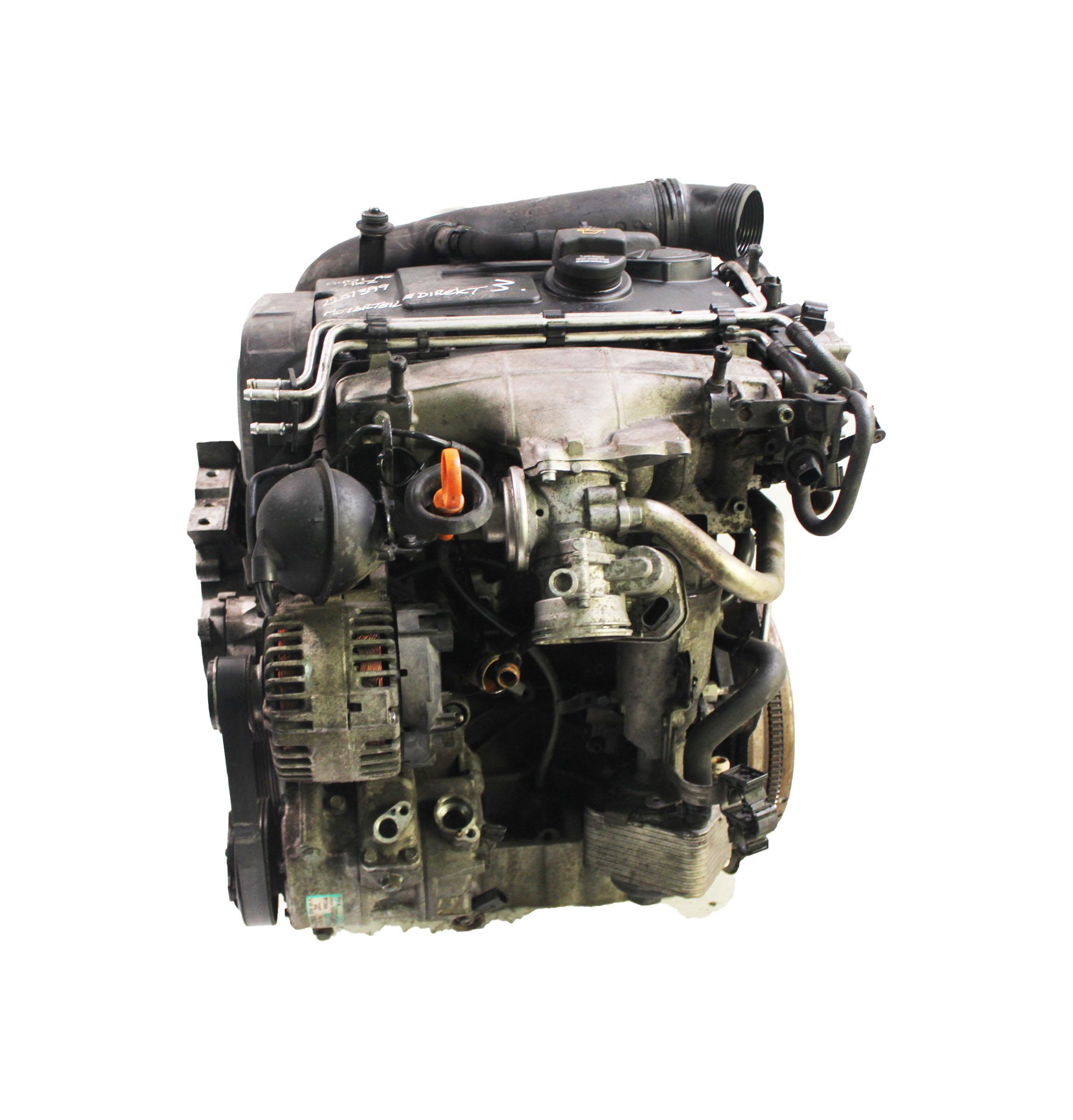 Motor für Audi A3 8P A5 2,0 TDI Diesel BKD 140 PS 103 KW